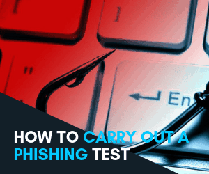 how to carry out an email phishing test