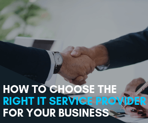 how to choose the right IT provider Blog Summary Image