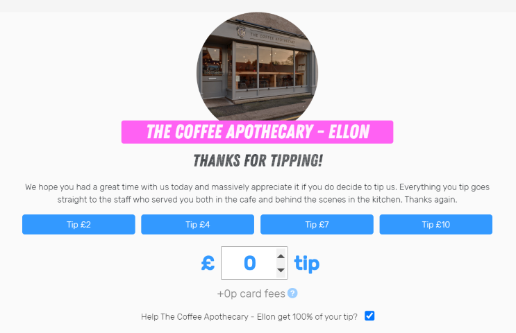 Ellon Tip Jar For Blog Small