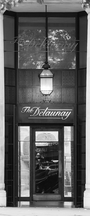 The Delaunay Entrance