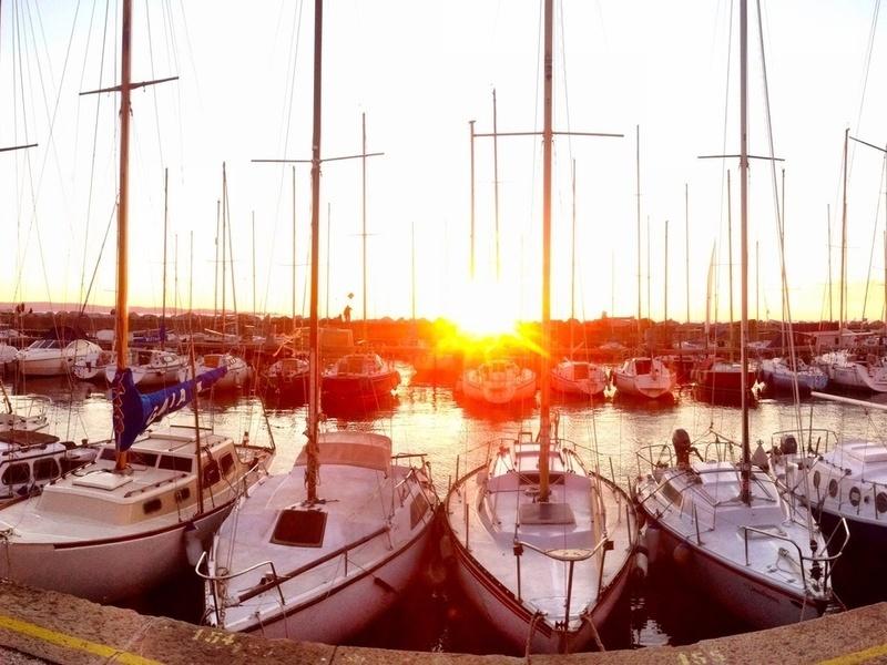 Le barche della Barcolana