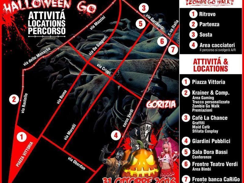Halloween Go: Gorizia trema nel weekend più pauroso dell'anno!