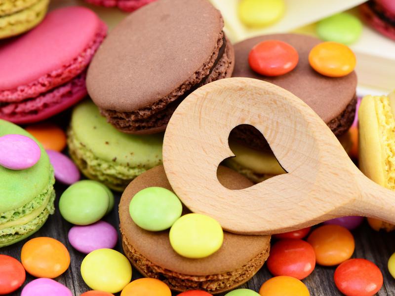 I macarons: i dolcetti più allegri che ci siano!
