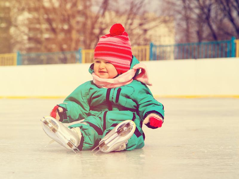 La pista di ghiaccio: un'attrazione per grandi & piccini!