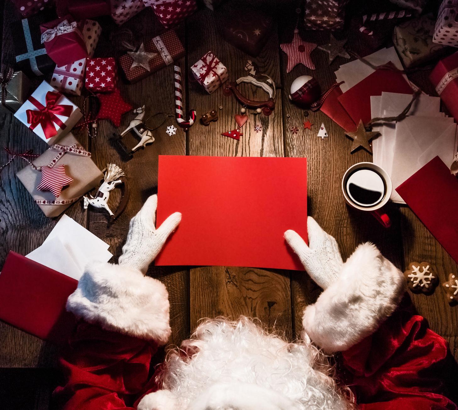 Santa Claus: le letterina più bella vince un premio!