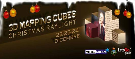 Christmas Raylight: l'Installazione multimediale Natalizia di Gorizia!