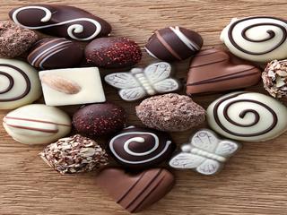 Show cioccolatini cuore 09 02 17