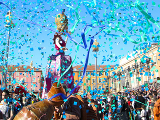 Show sfilata carnevale 15 02 17