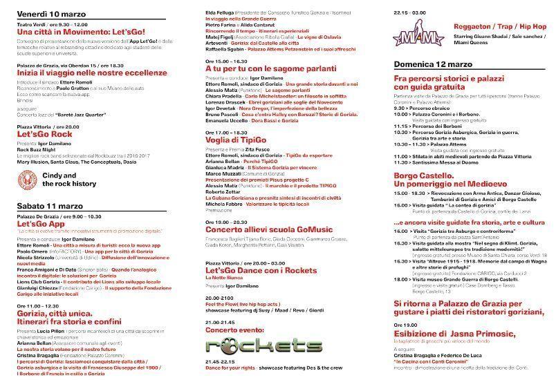 Let'sGo Gorizia, una festa per celbrare la tua città!