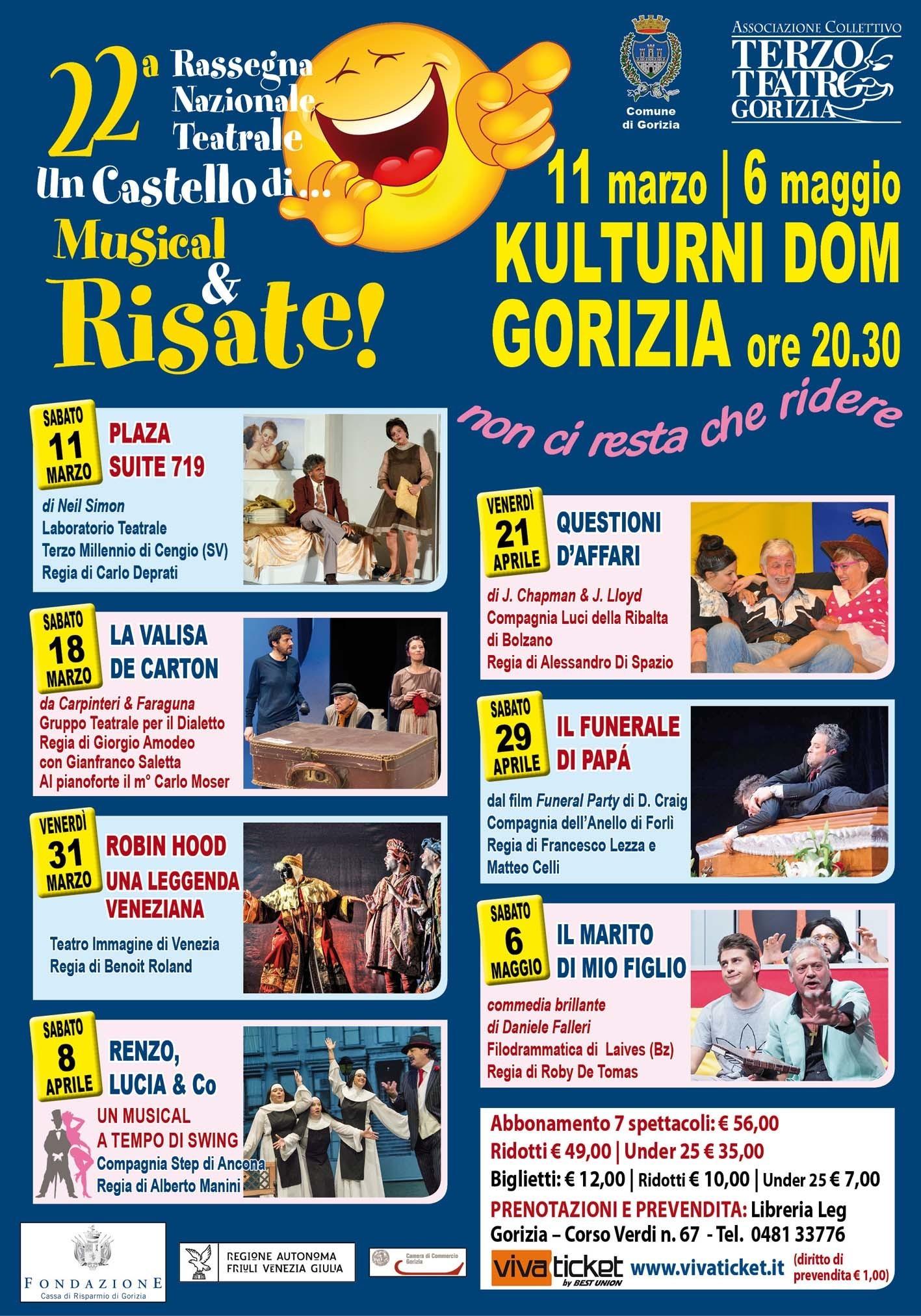 """""""Un castello di ...musical & risate"""" - 22ima edizione"""