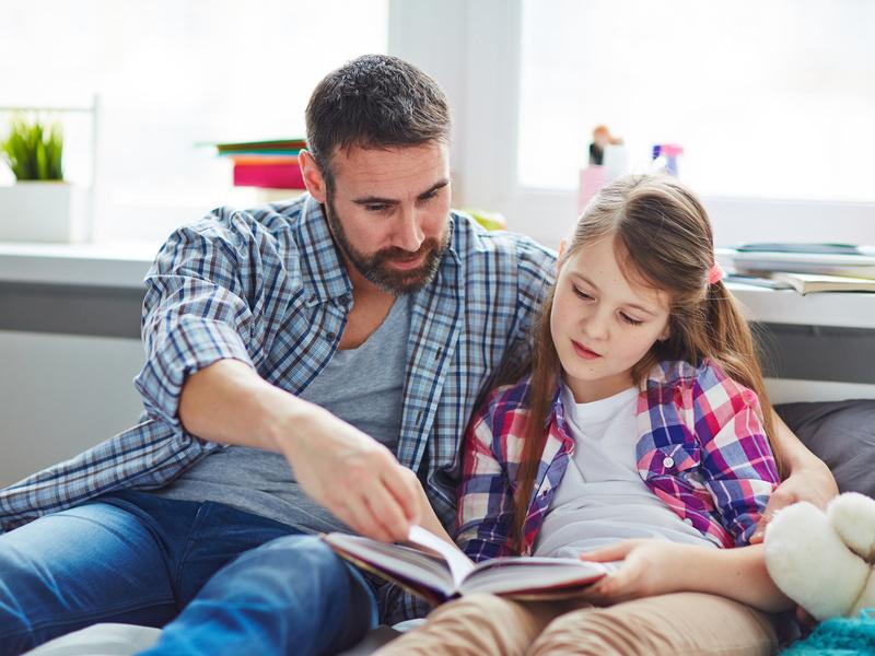 Ascoltare una lettura piacevole per i bimbi è un vero toccasana!