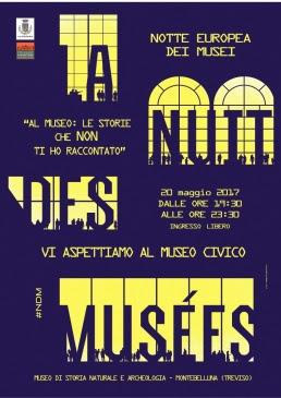 La  Notte Europea dei Musei di Montebelluna!