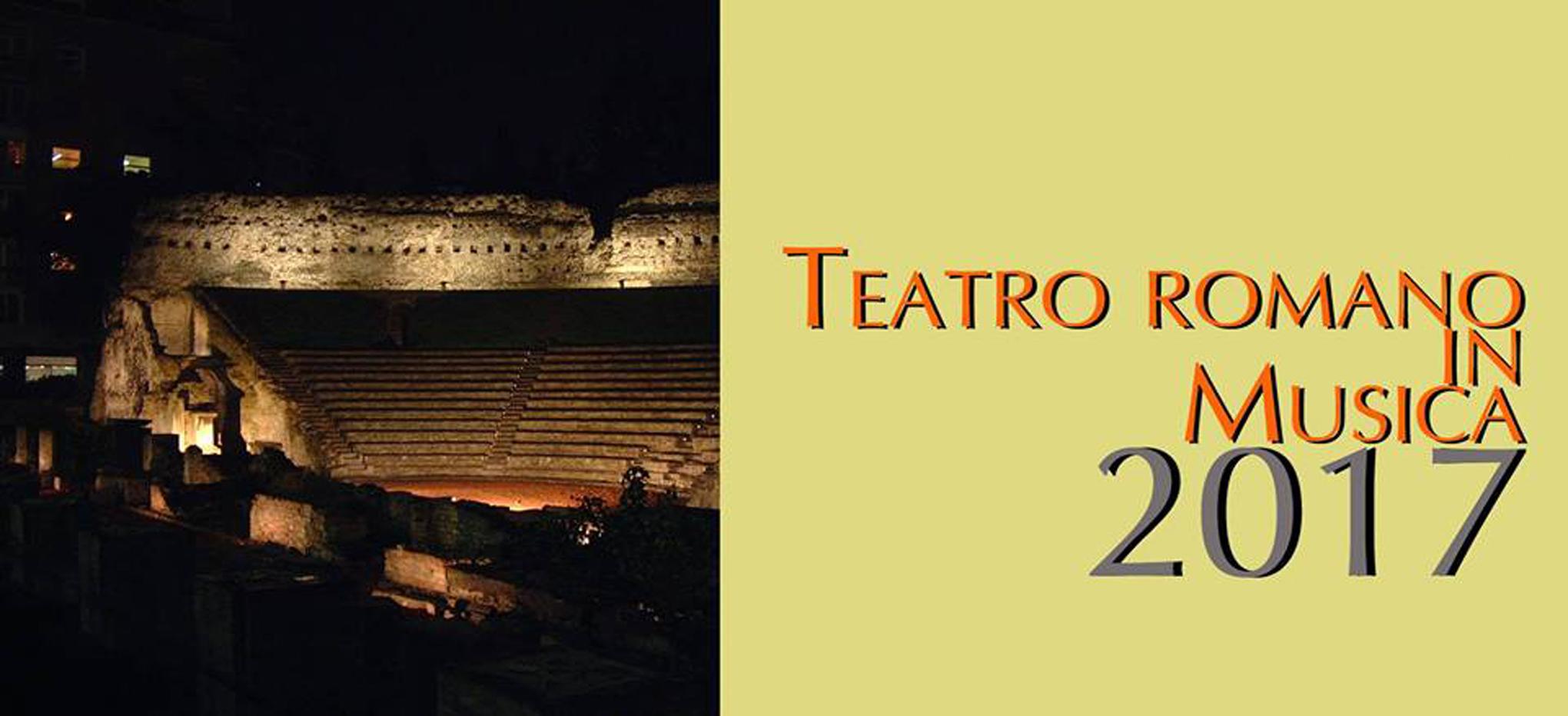 Teatro romano in musica trieste 10 08 17