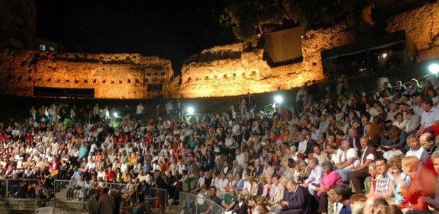 Teatro Romano in musica!