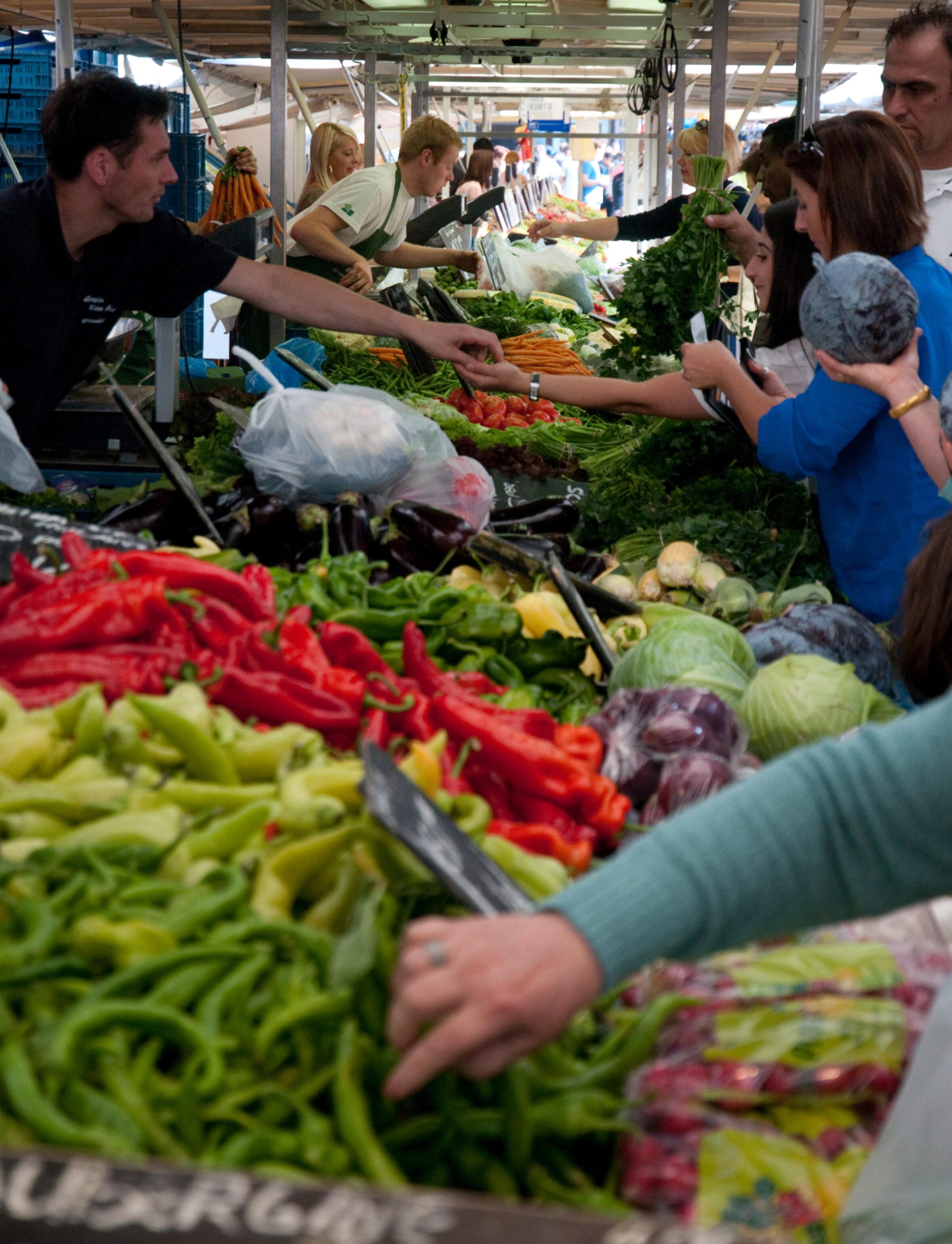 2009 Jeffrey Pardoen Markt Winkelen 2