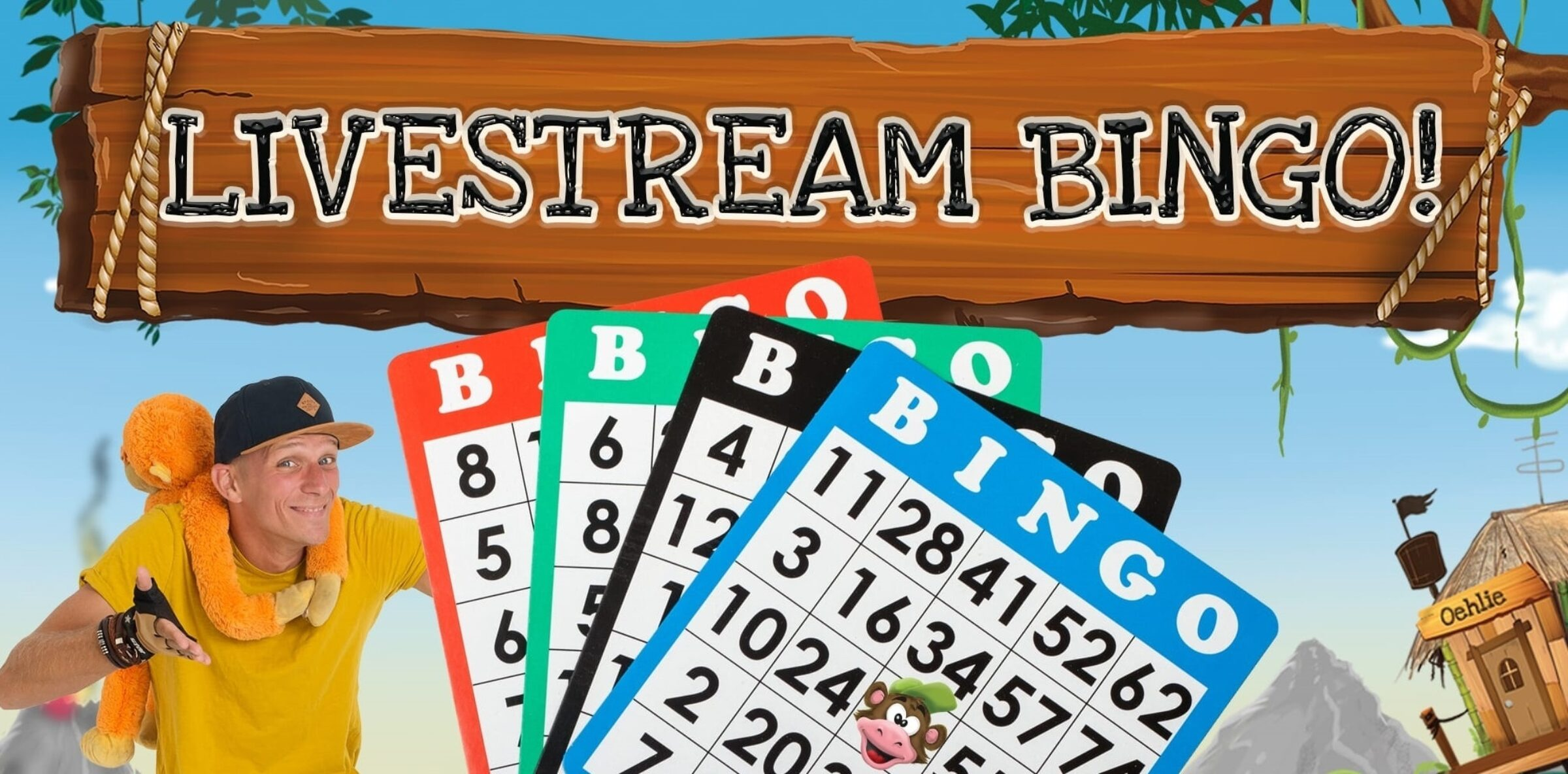 Bingo Monkey Town Enschede livestream