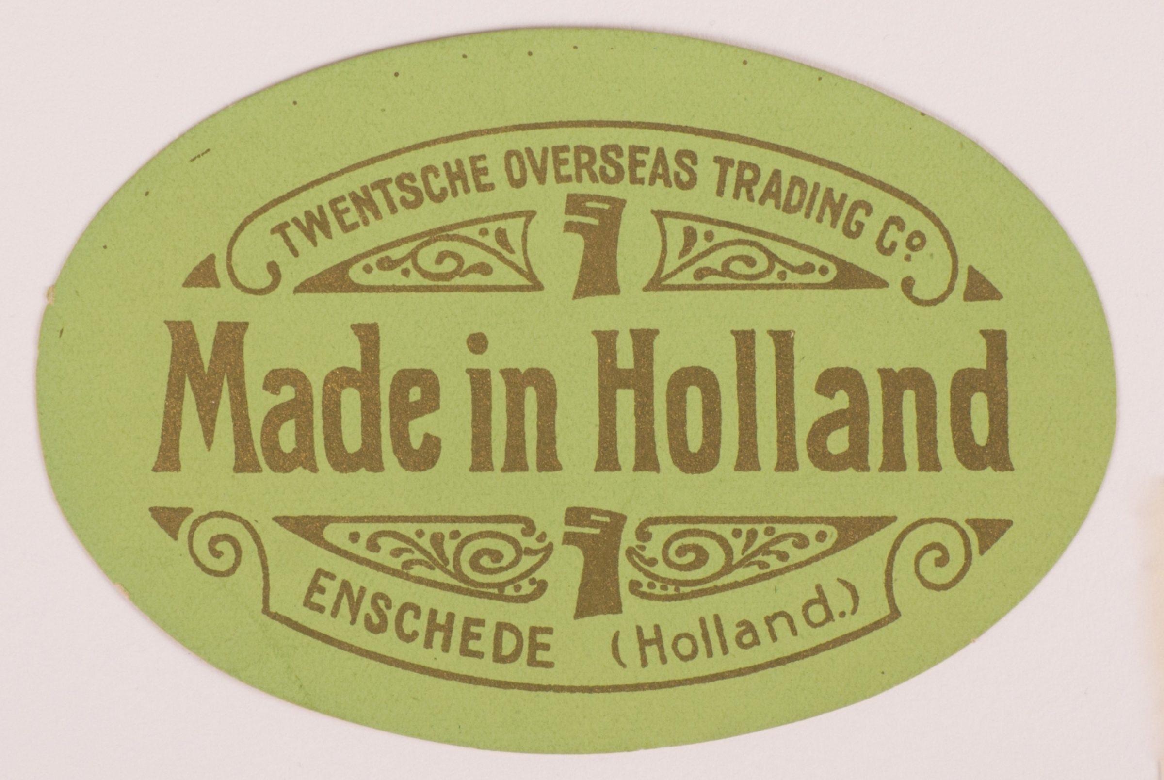 Twentsche Overseas Trading Made in Holland groen 1369 1536825792 35ht2wu0iu