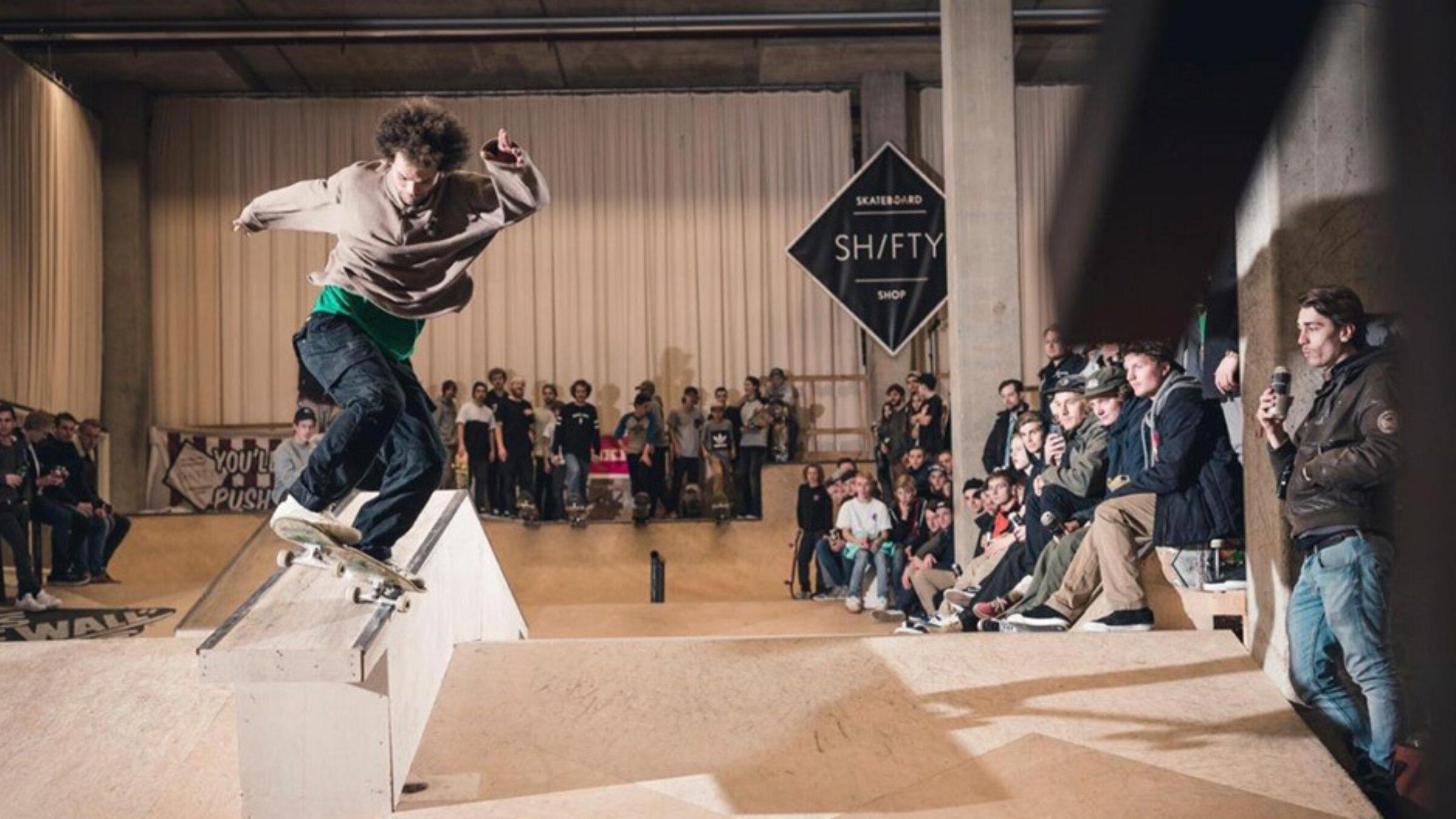 Internationaal skateboard contest
