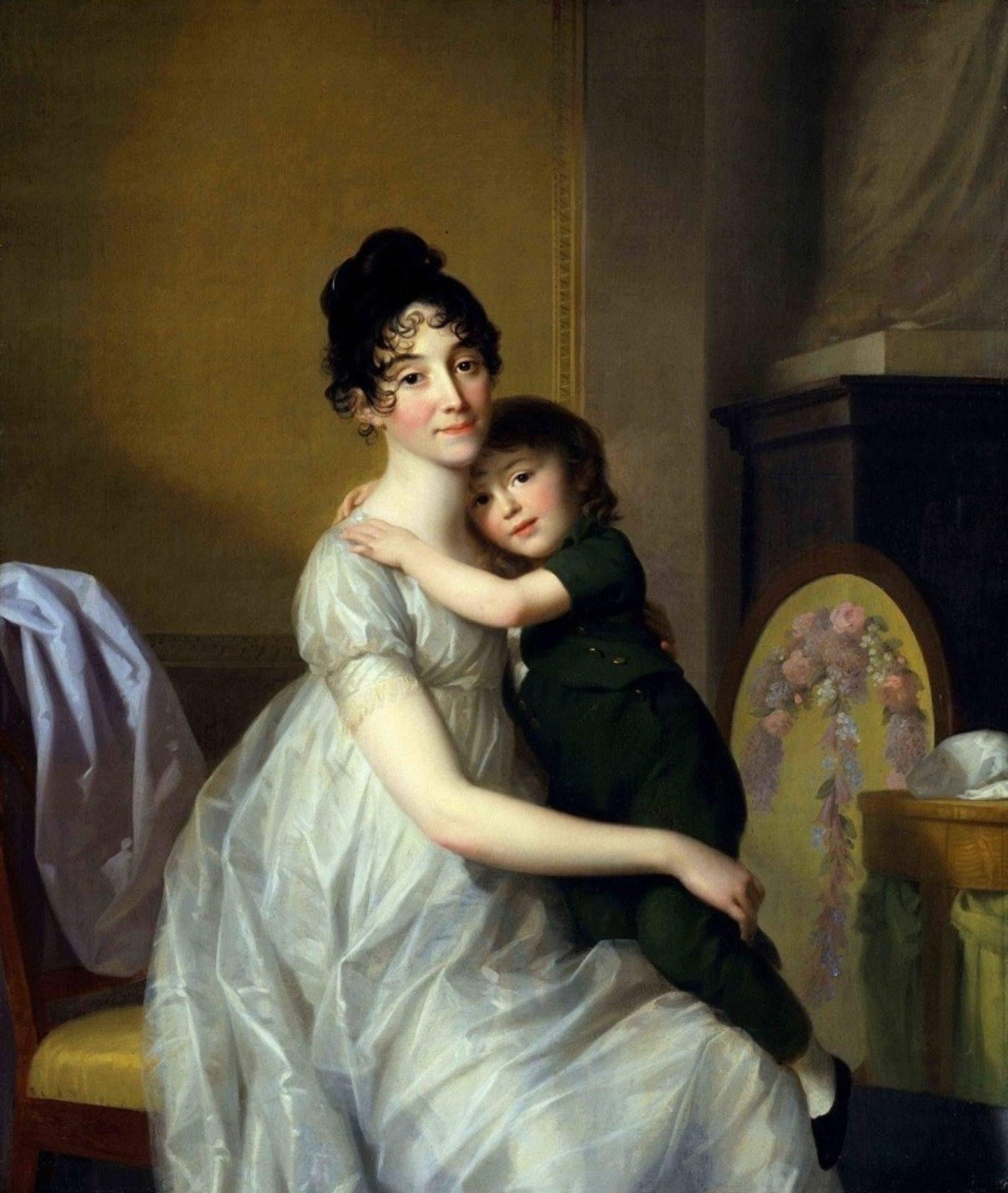 J F A Tischbein Anne Pauline Dufour Feronce met haar zoon Jean Marc Albert 1802 Museumslandschaft Hessen Kassel Gem C3 A4ldegalerie Alte Meister LR 35hxpqzxlb