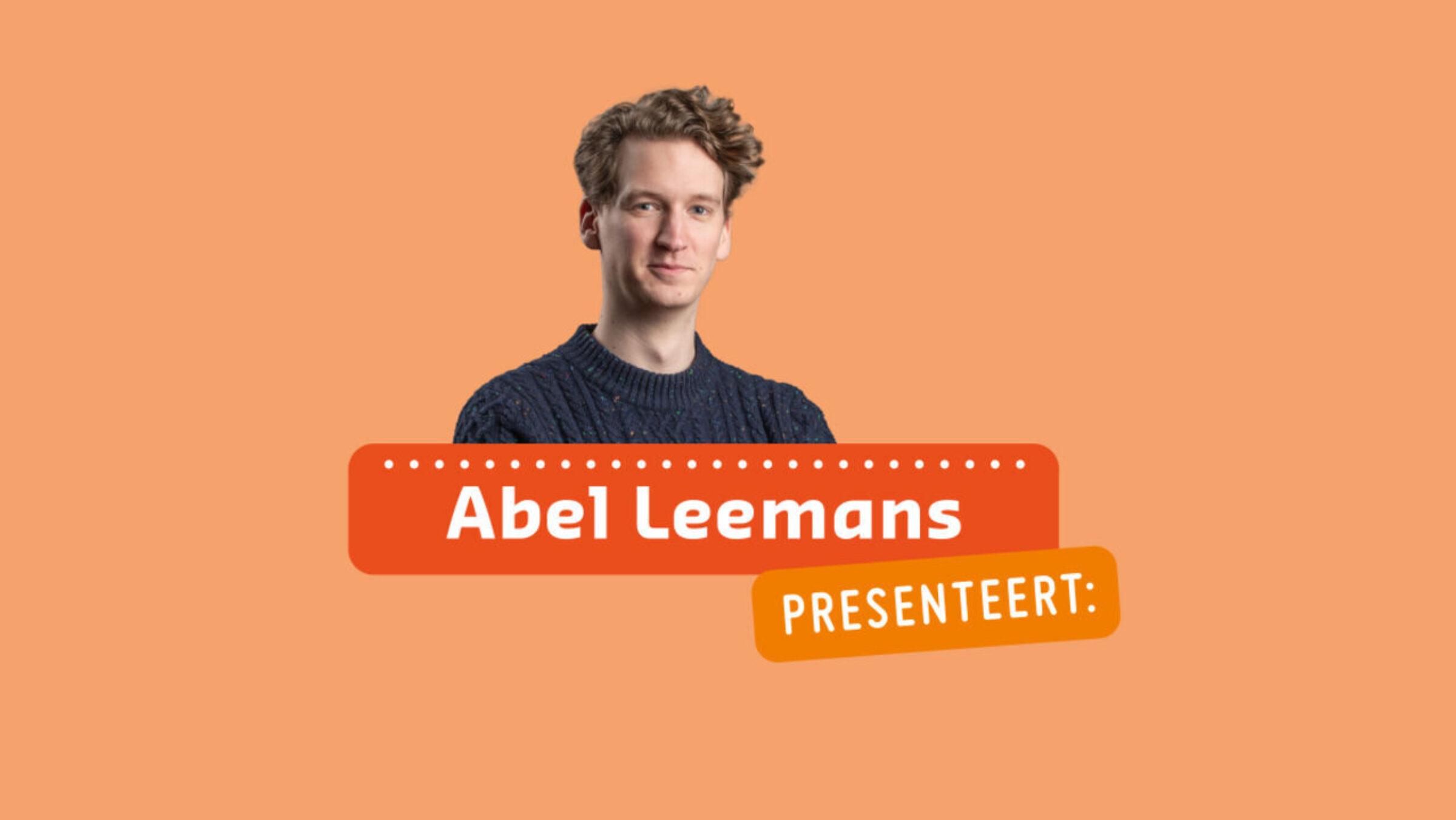Abel Leemans presenteert