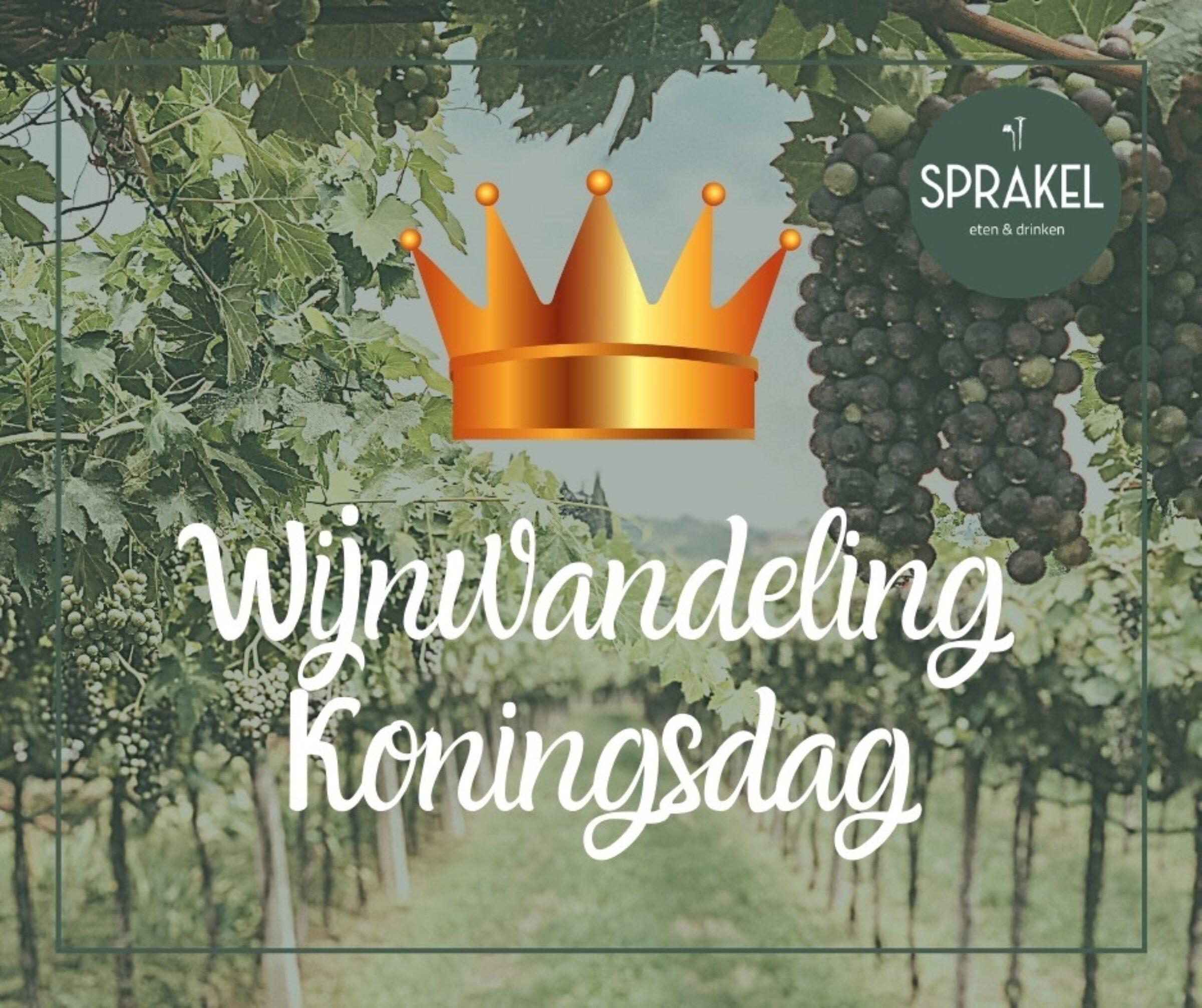 Wijnwandeling sprakel