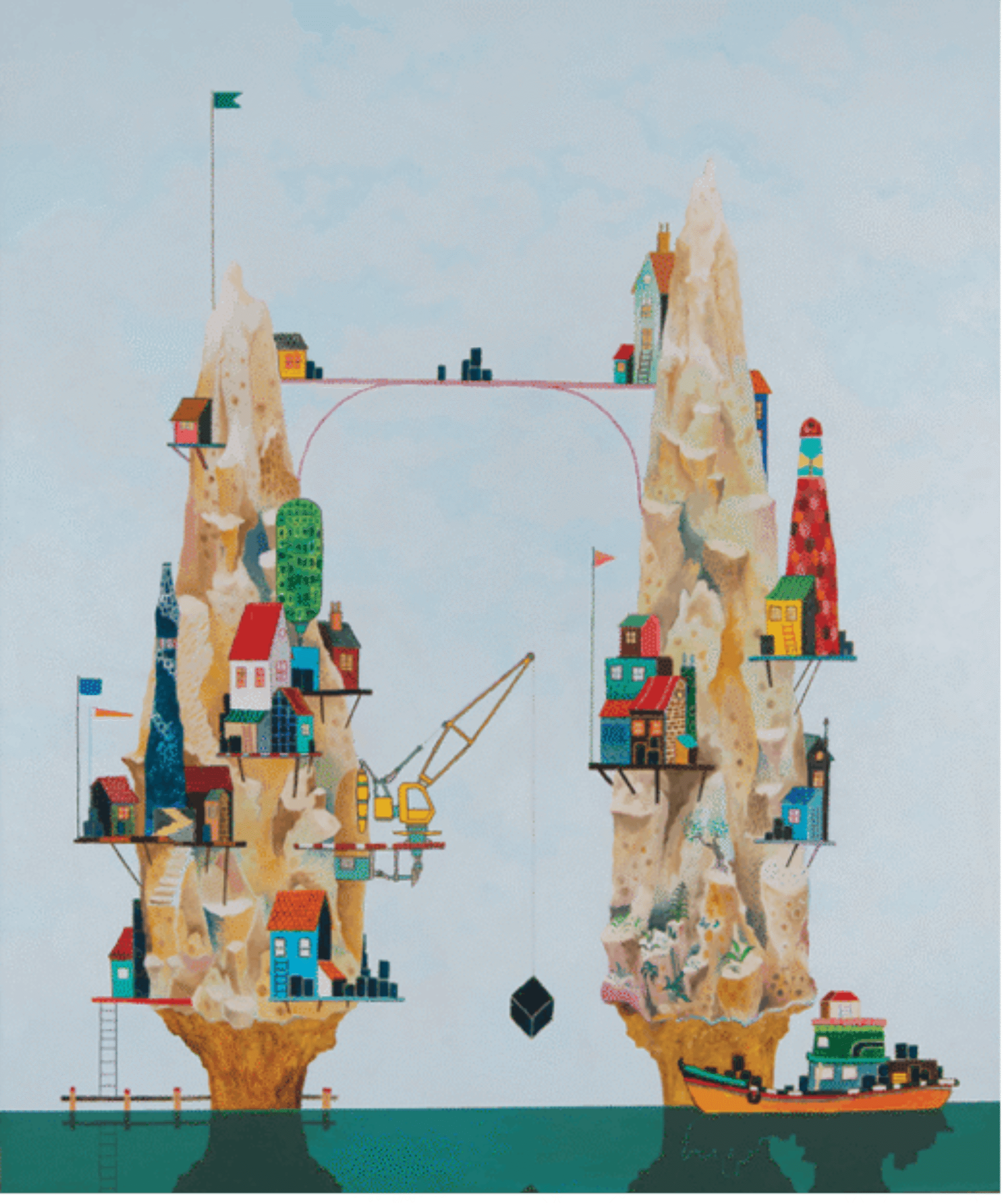 Werk van Bas van der Linde