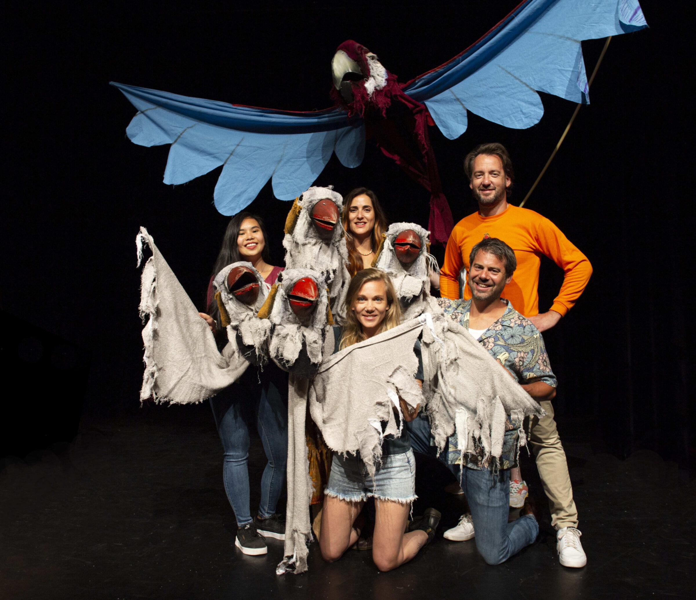 Cast Vreemde Vogels Myrthe Effing
