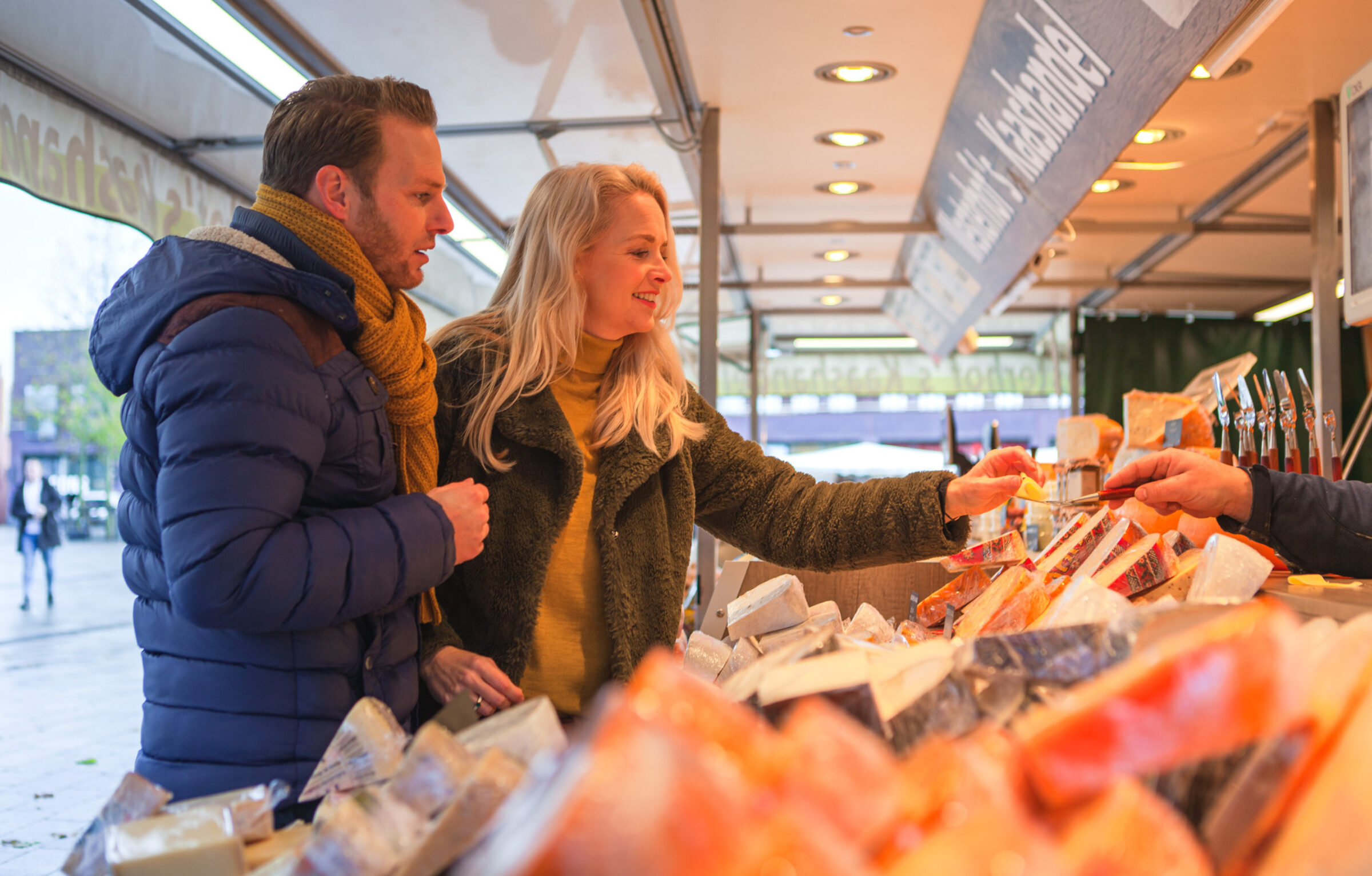 Der große Wochenmarkt in Enschede