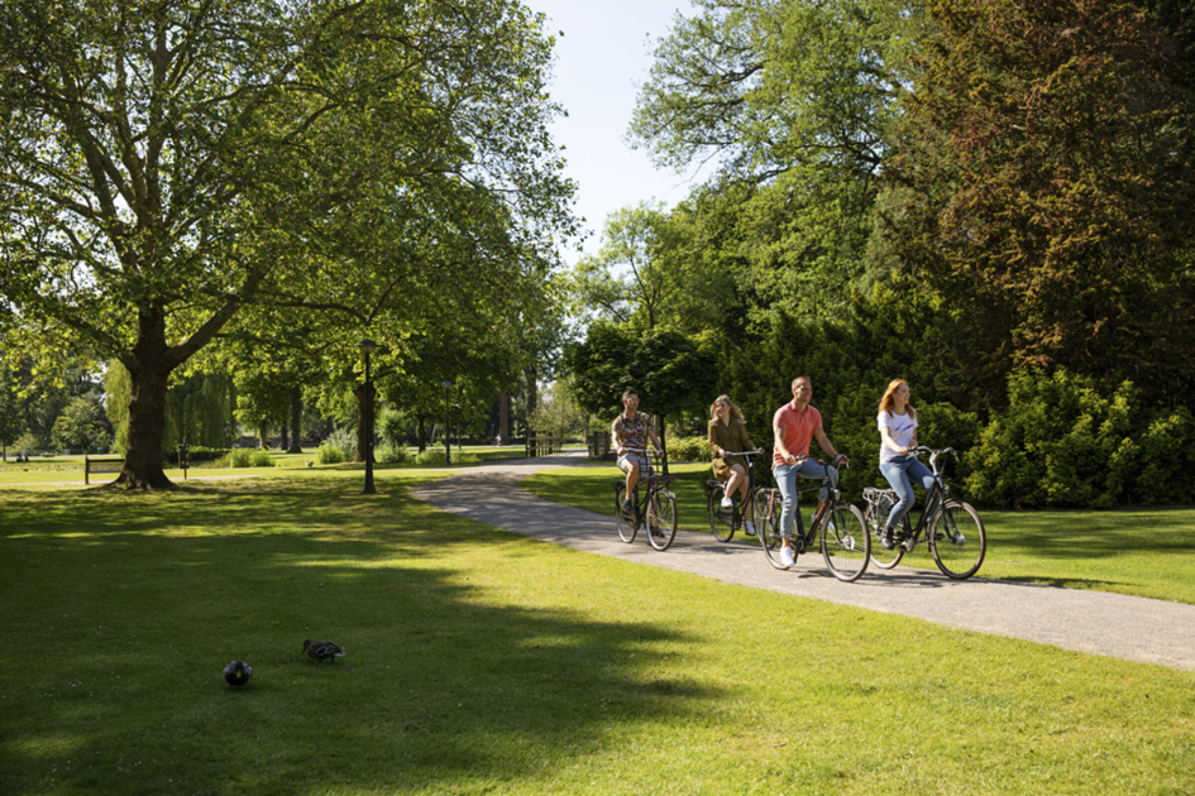 2019 Ebo Fraterman fietsen Volkspark 1 klein