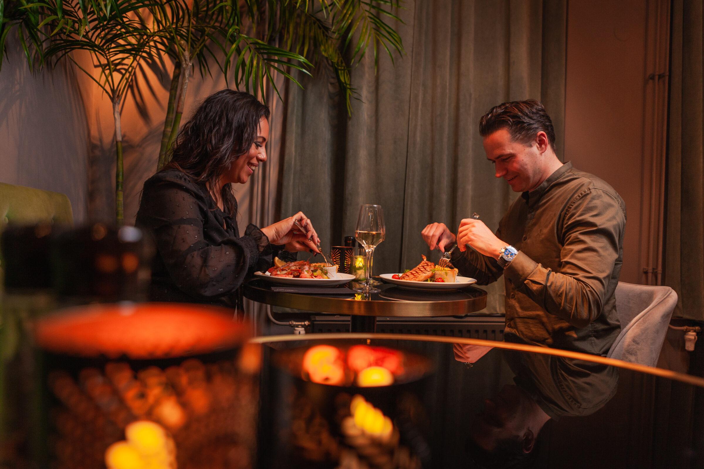 Romantisches Abendessen Enschede