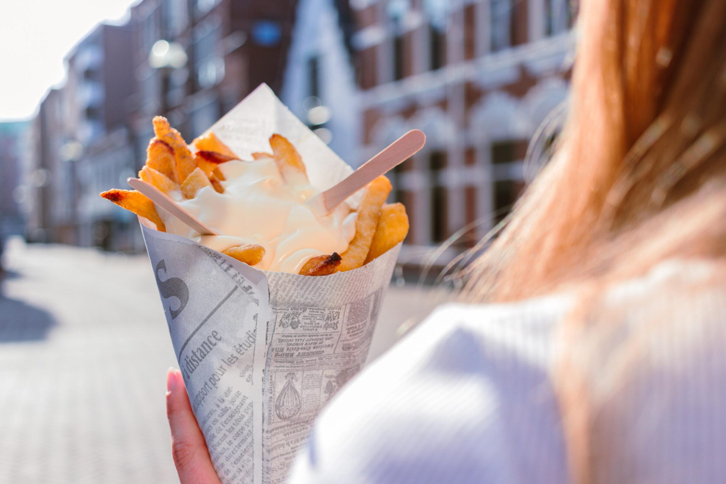 Pommes Enschede - Uit in Enschede