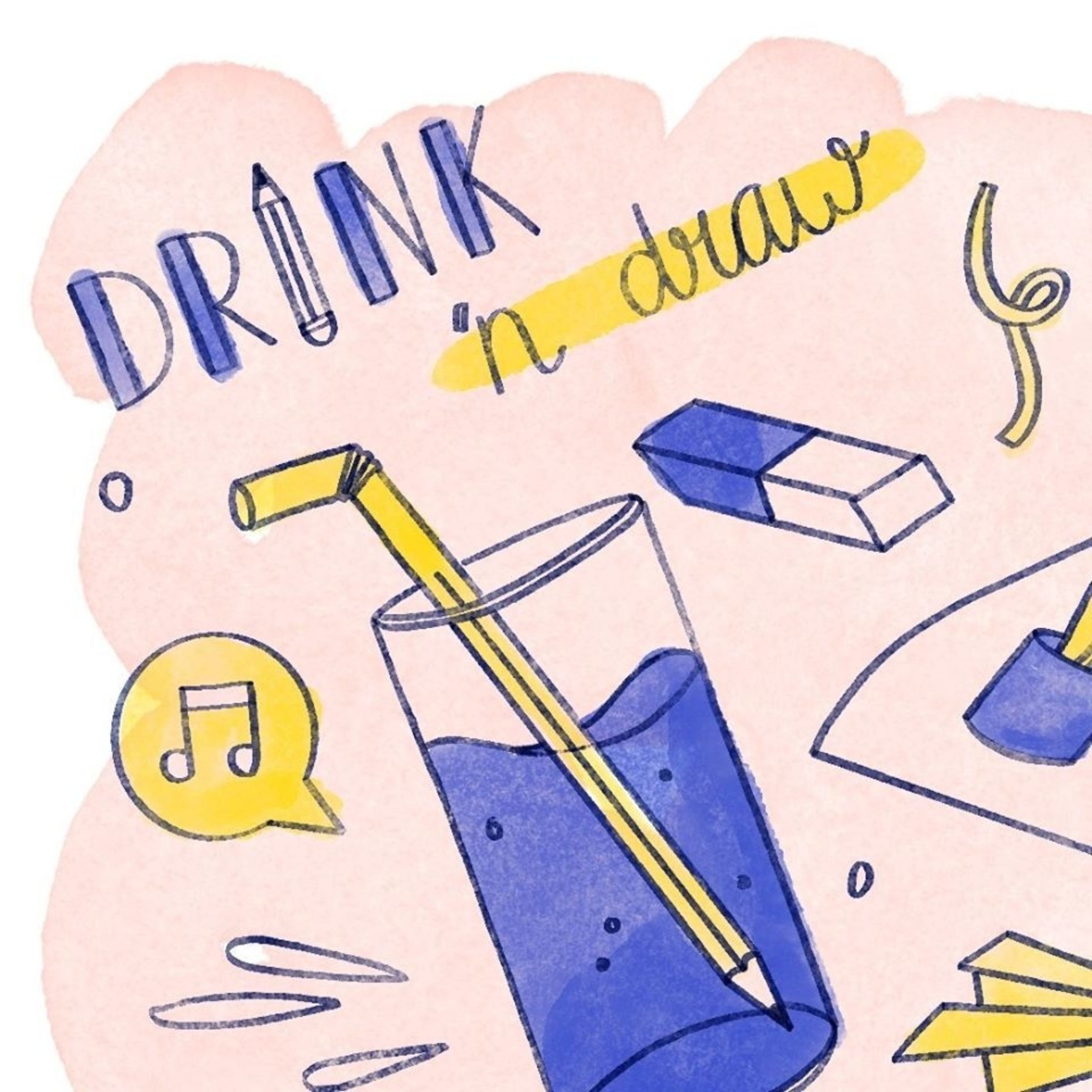 Drink 'N Draw Enschede
