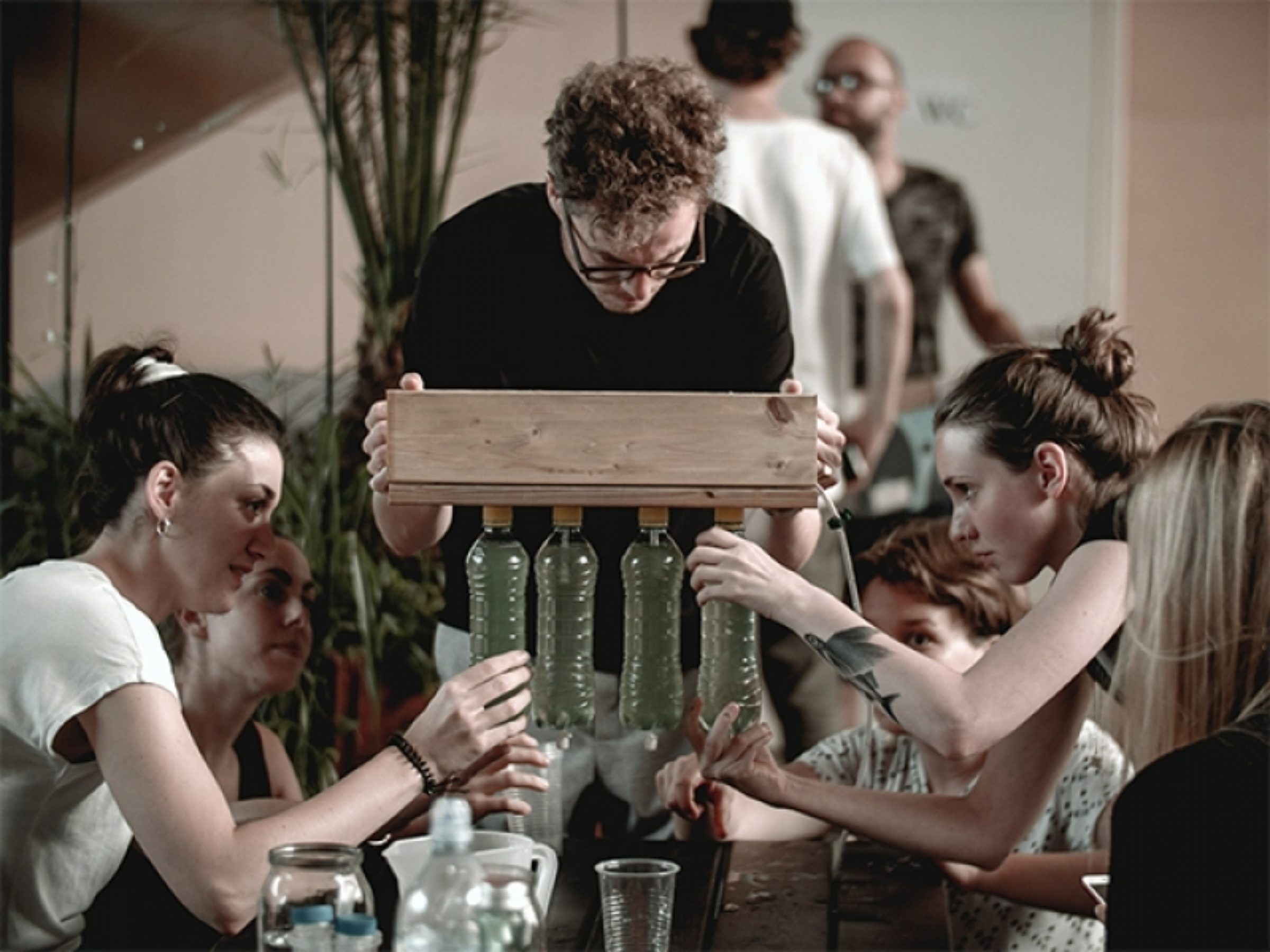 Bio Hack Academy Algae Workshop Latvia Photo Ivars Burtnieks