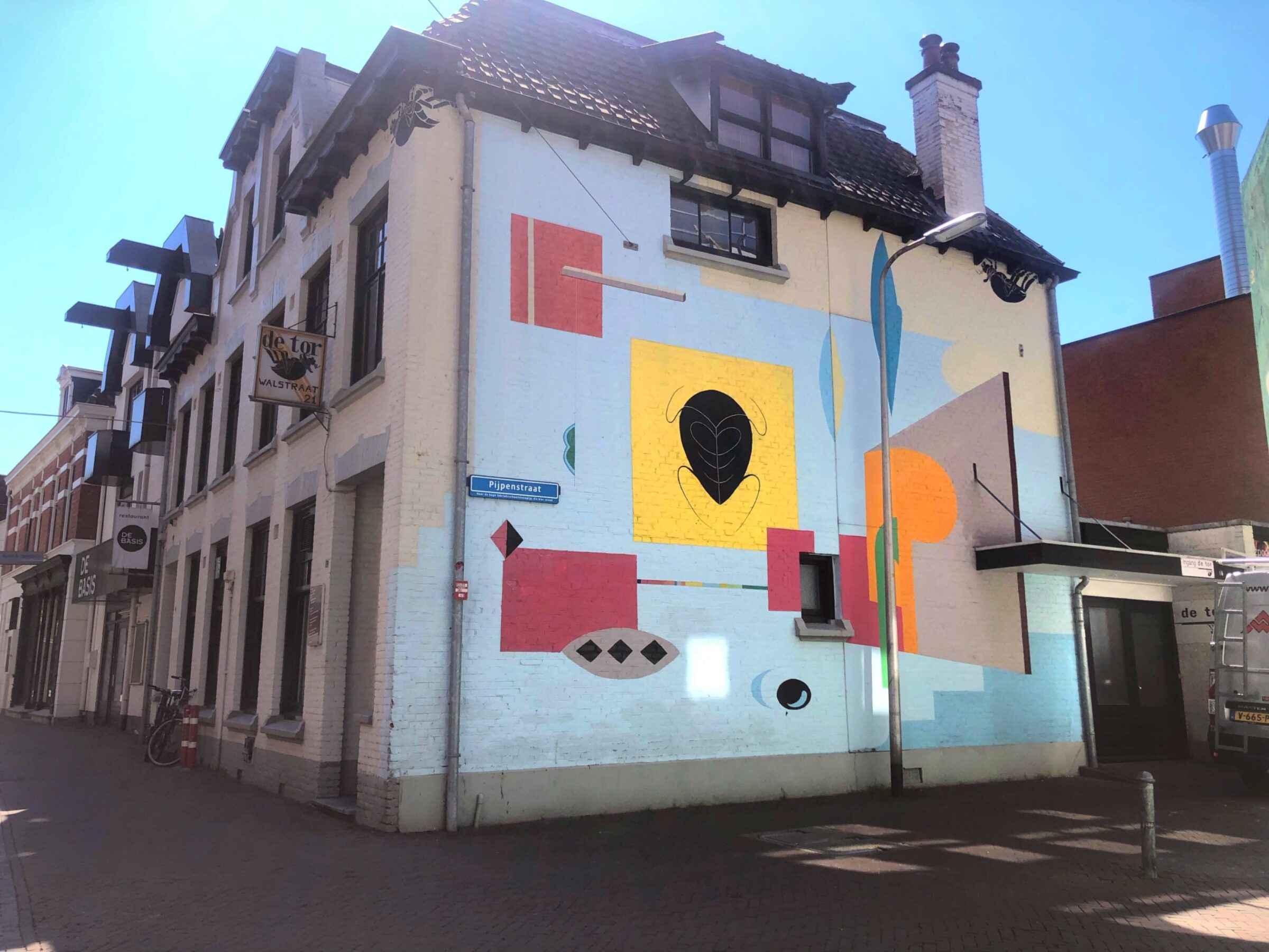 De tor muurschildering