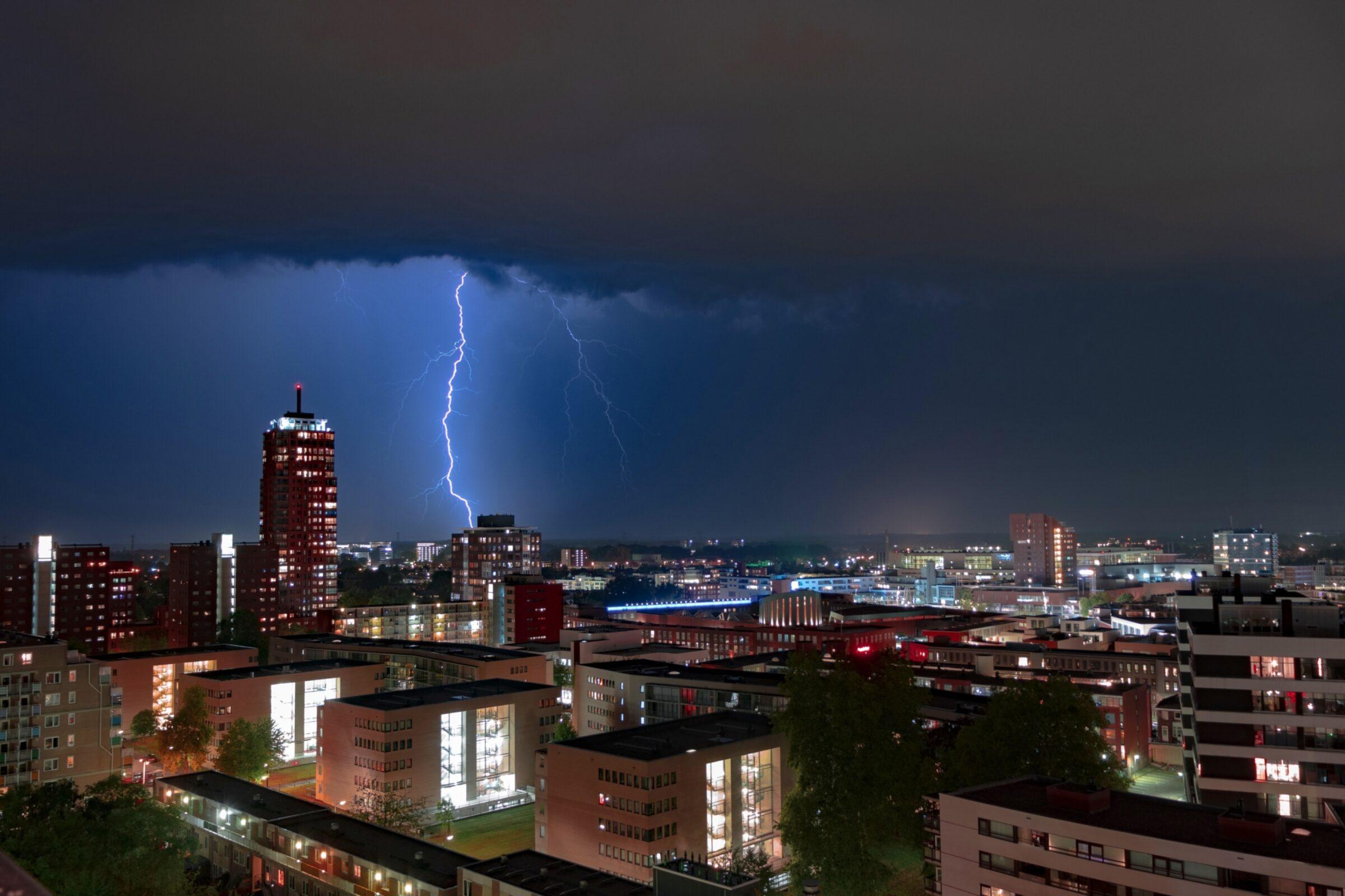 Gewitter in Enschede