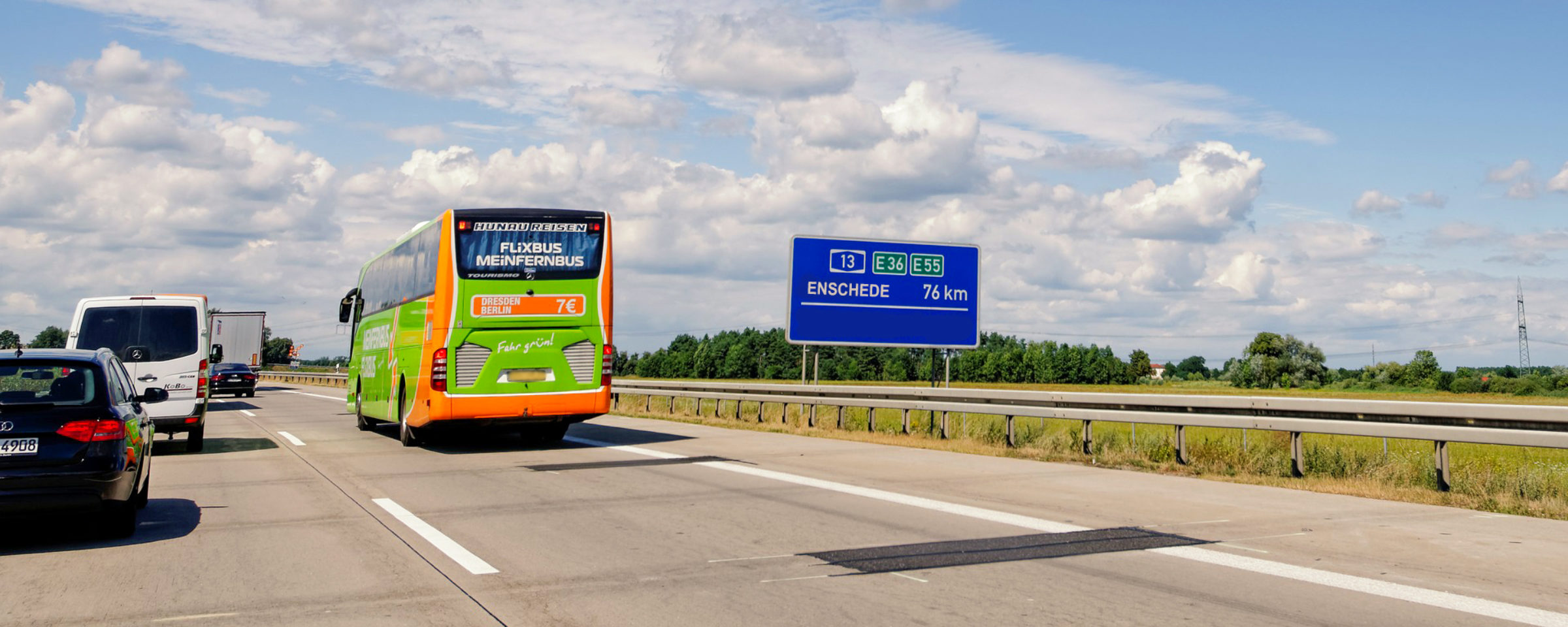 From Amsterdam to Enschede