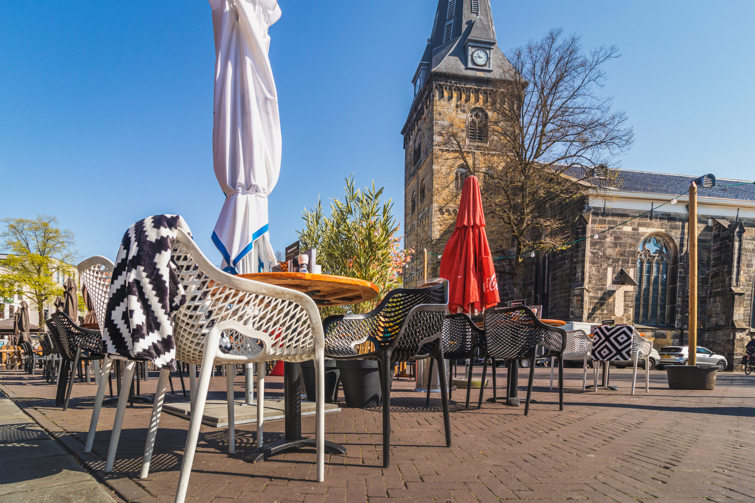 Grote Terrassen Oude Markt Enschede