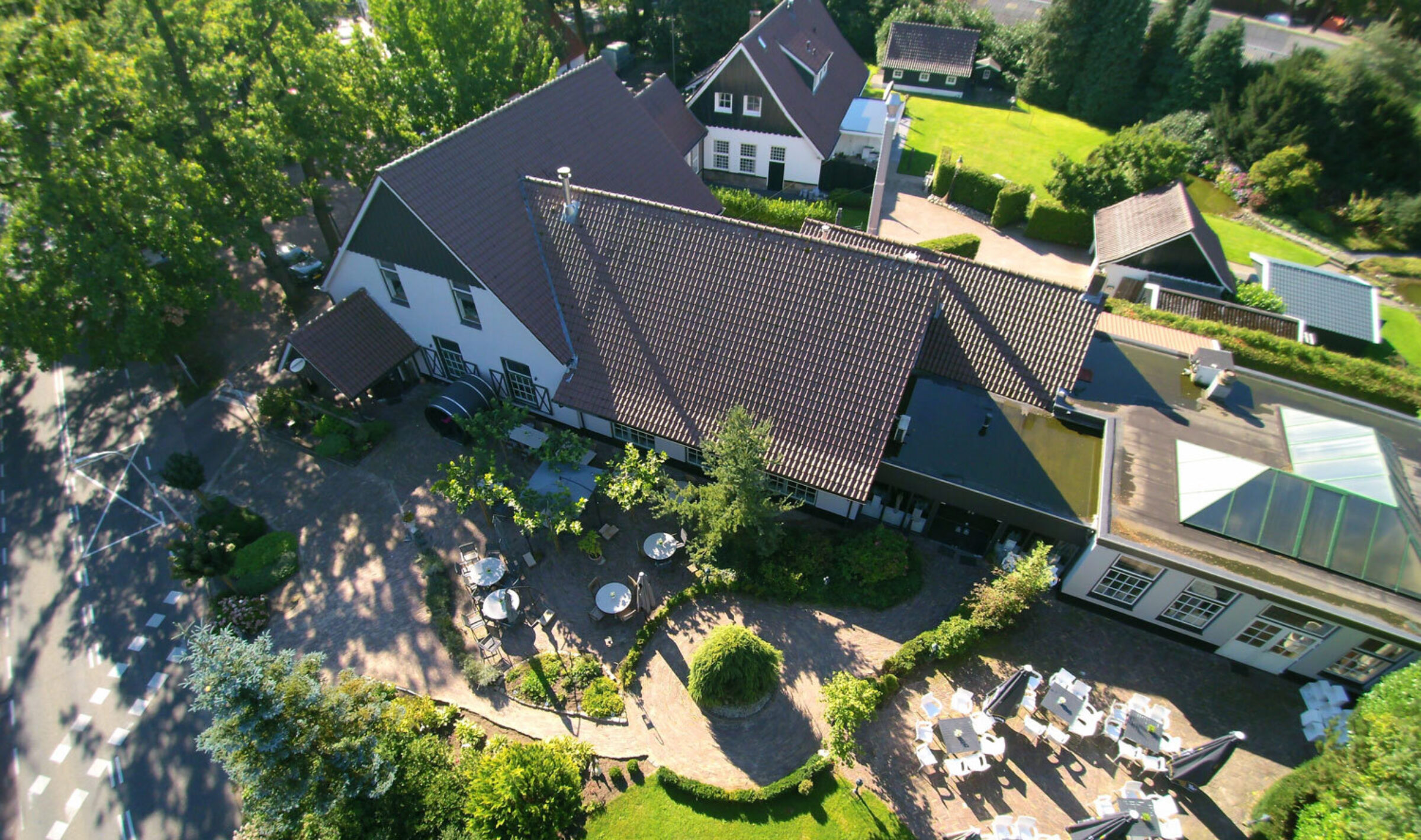 Hanninkshof terras Enschede