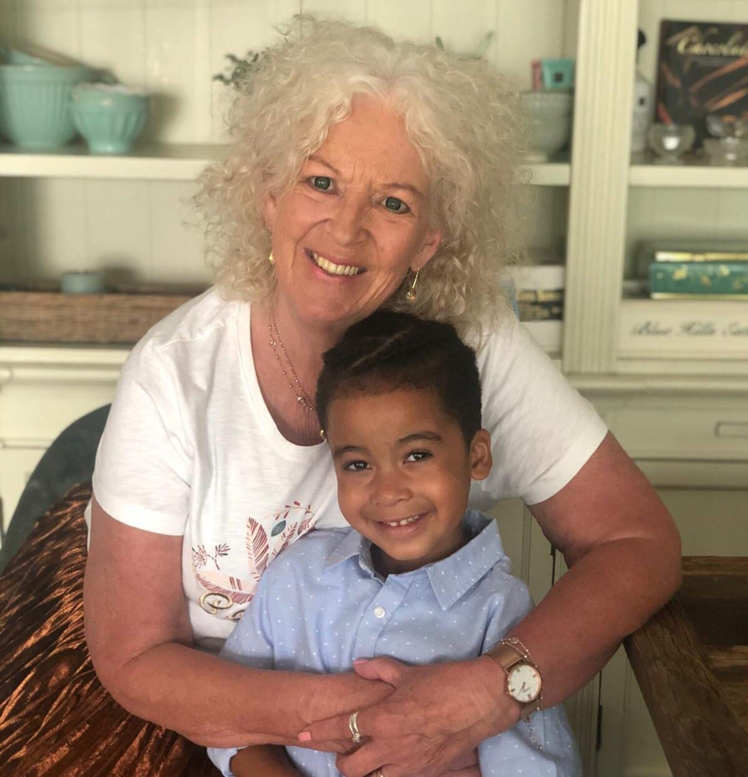 Ineke met kleinzoon