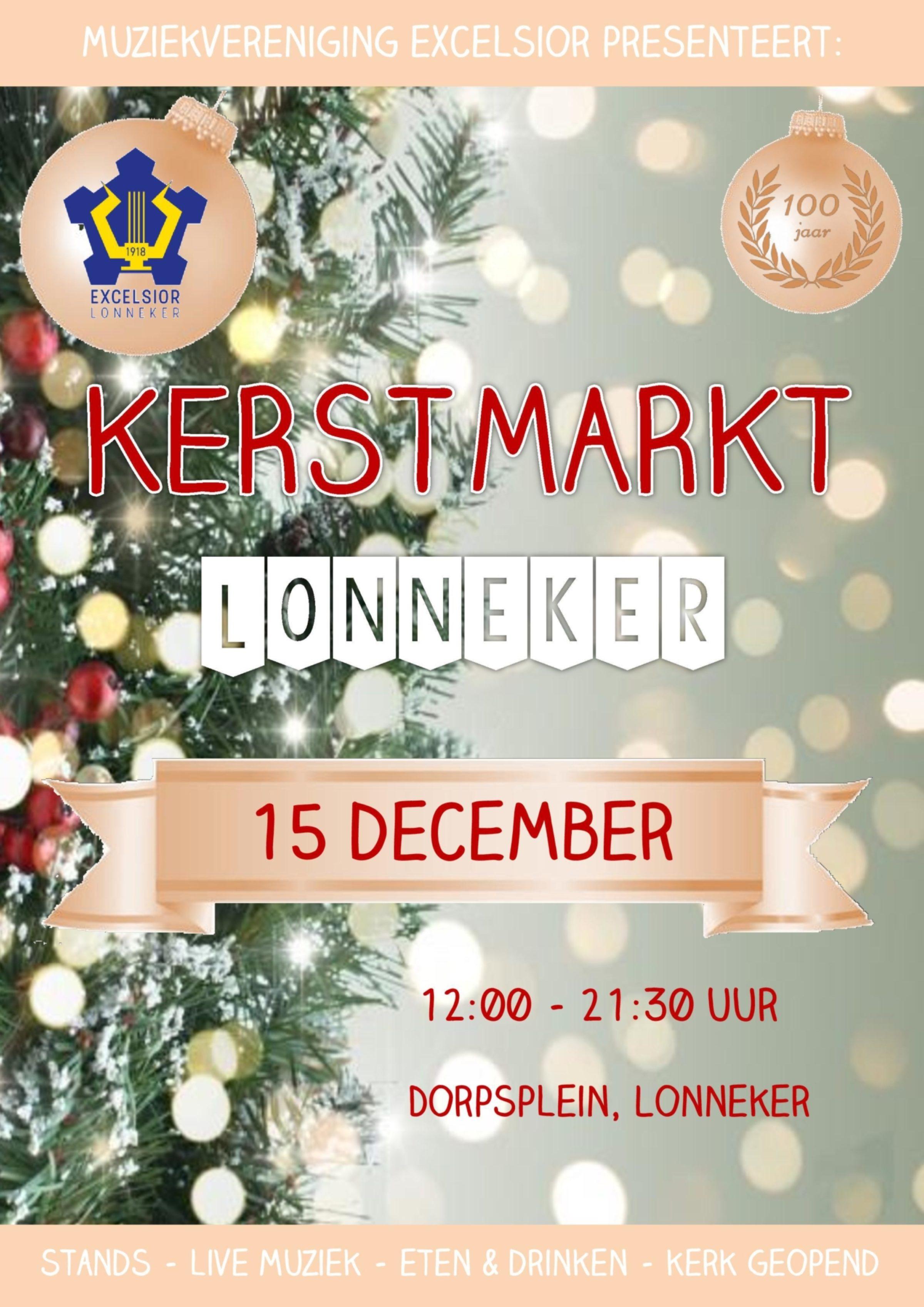 Kerstmarkt Poster Flyers