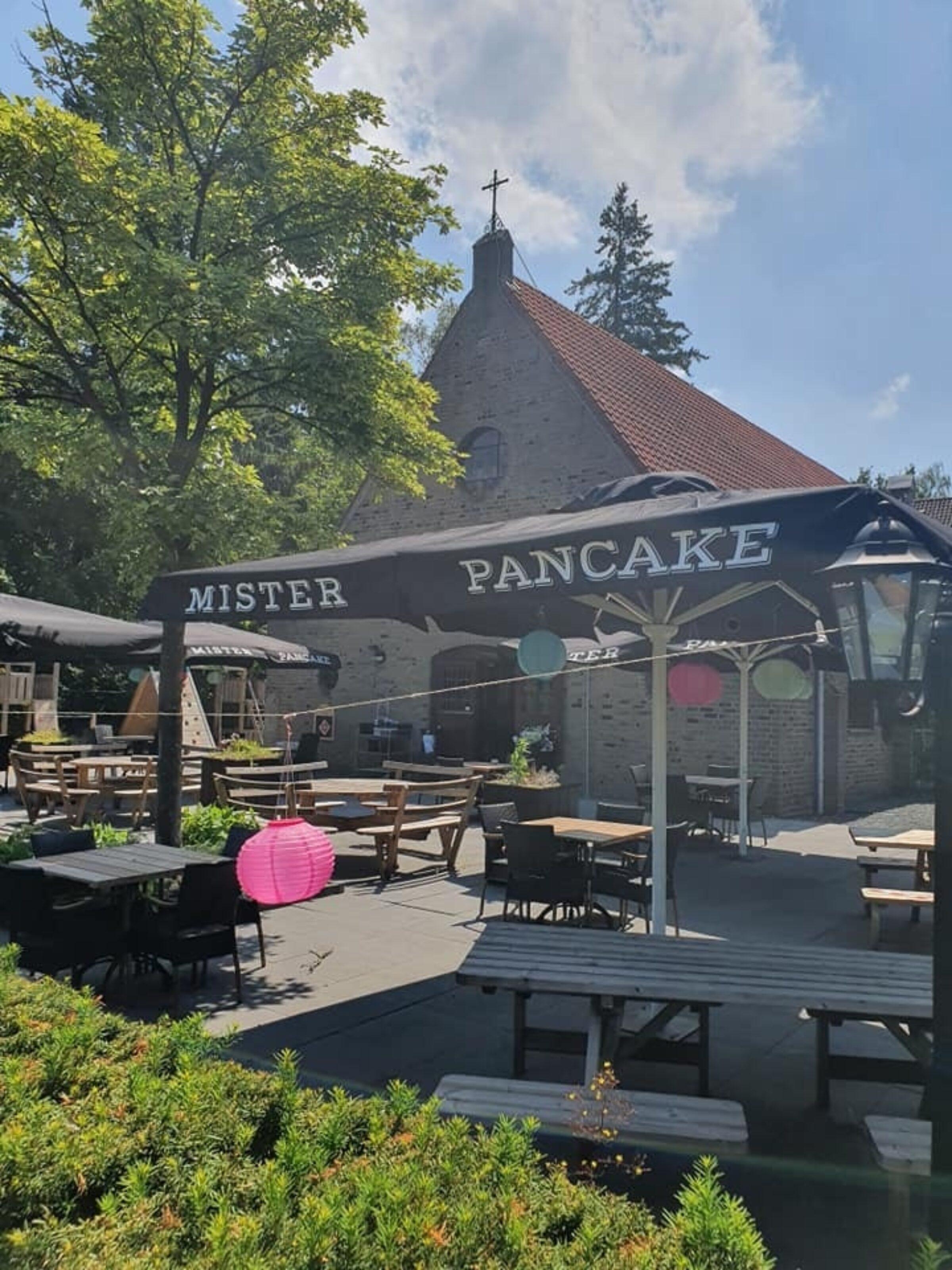 Mister Pancake terras