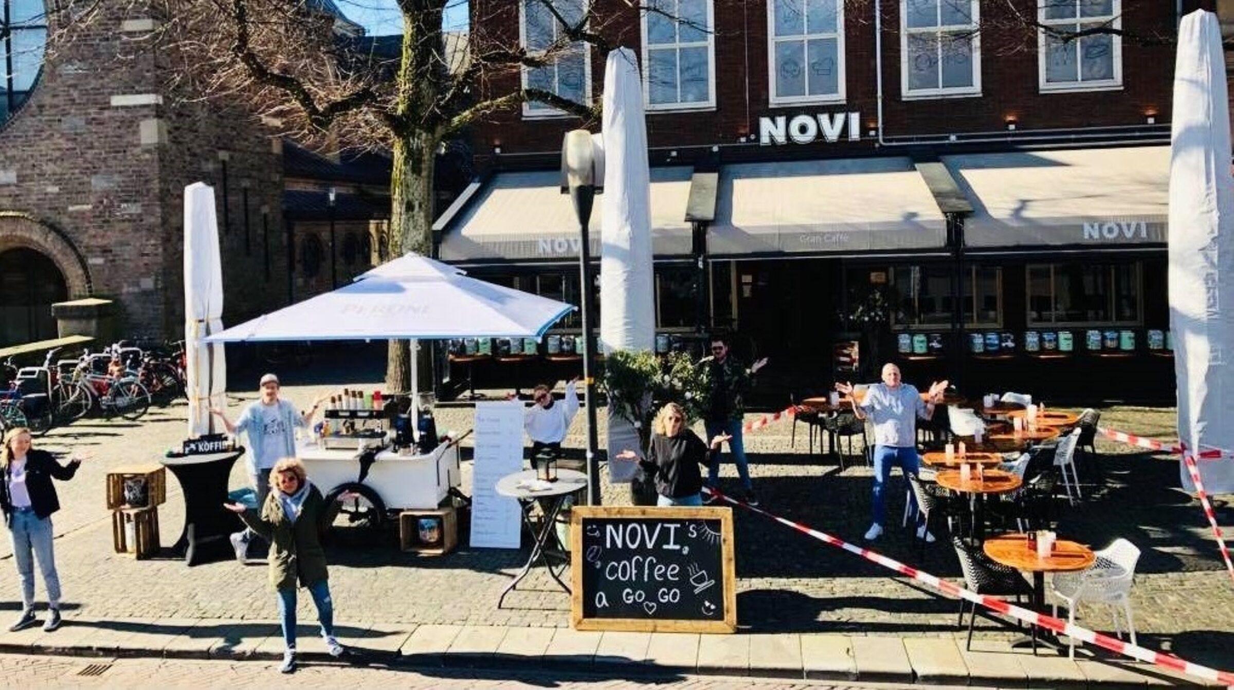 Novi Enschede to go Oude Markt
