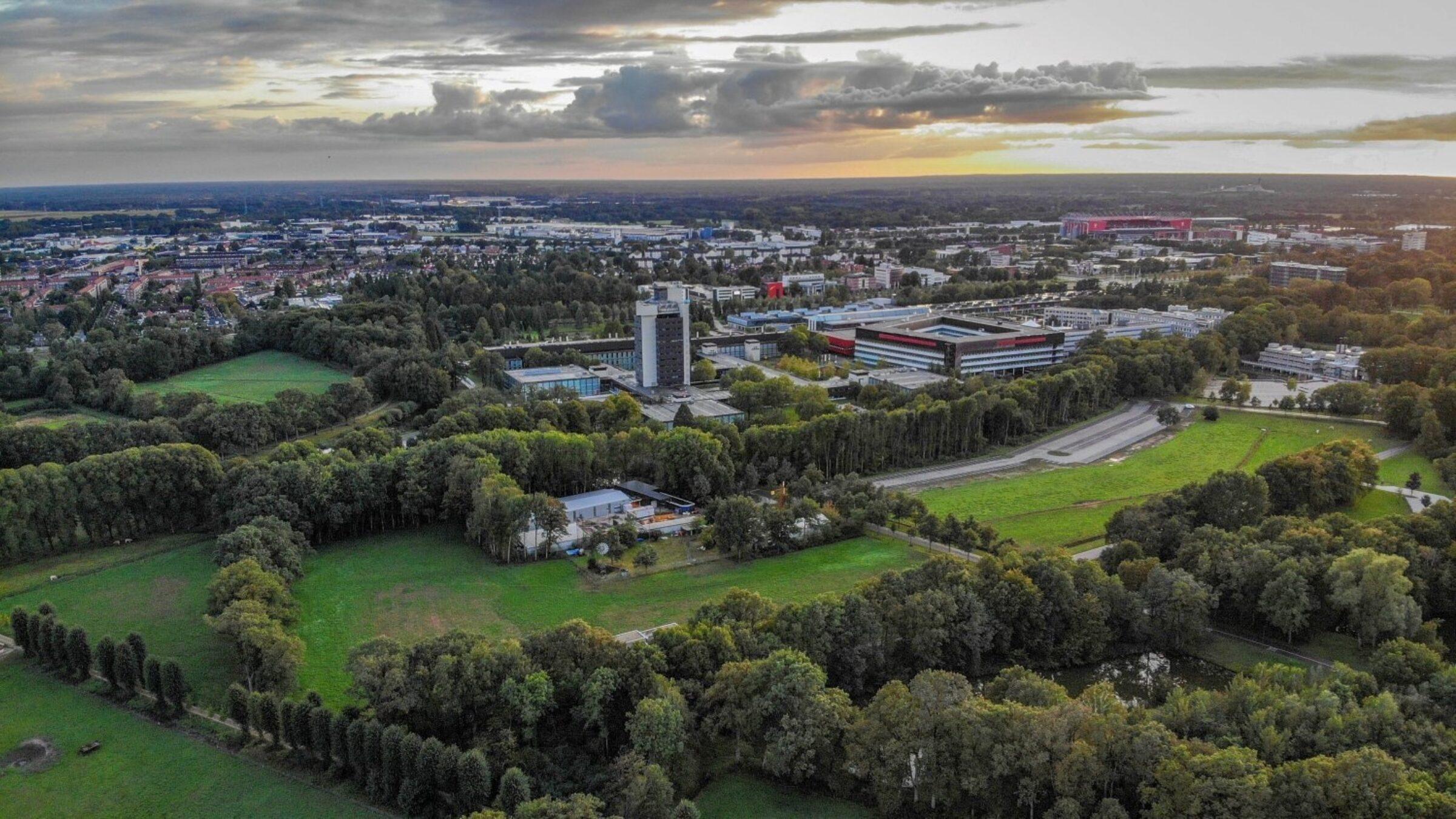 Overzicht campus UT
