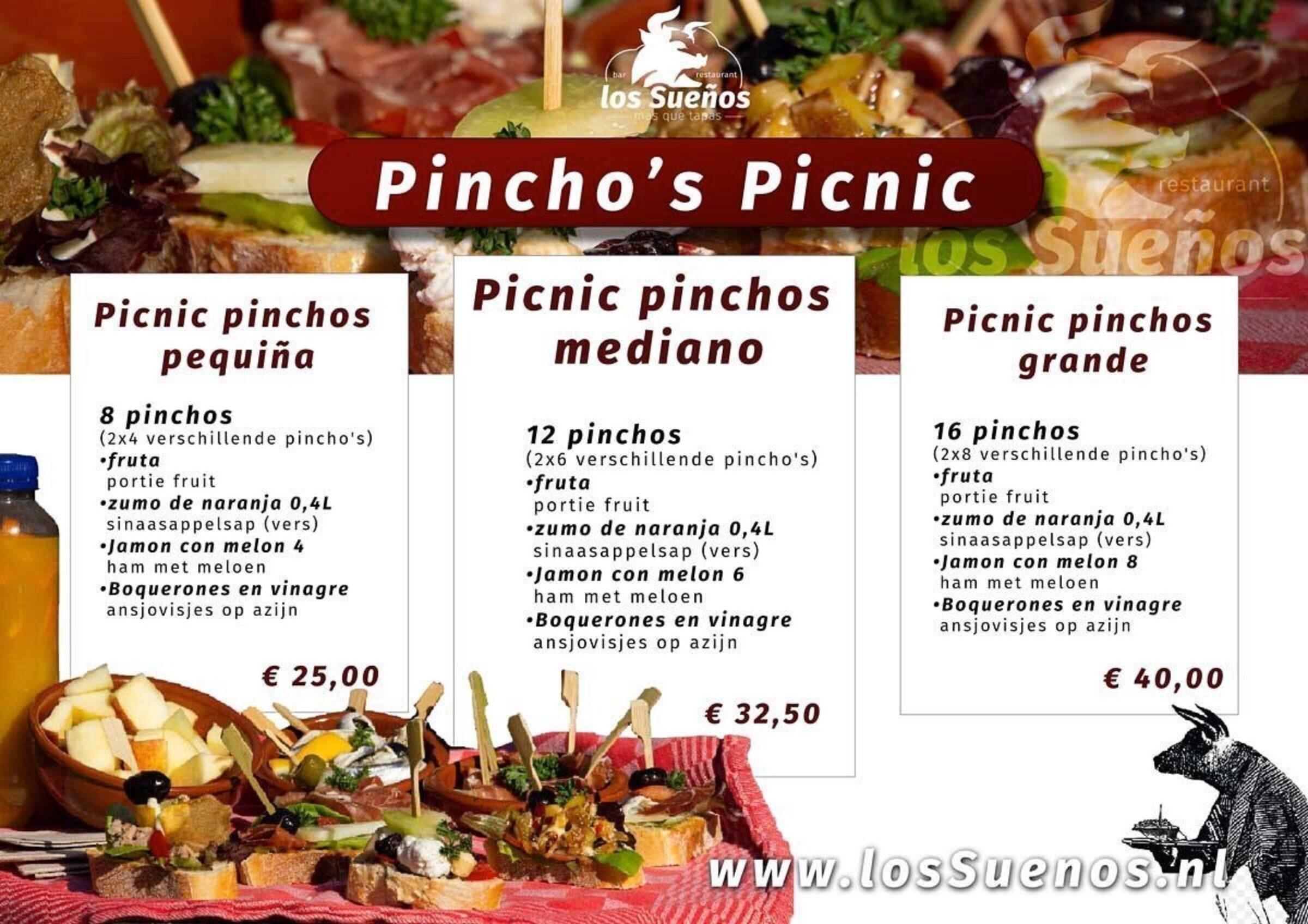 Pinchos picnic los suenos