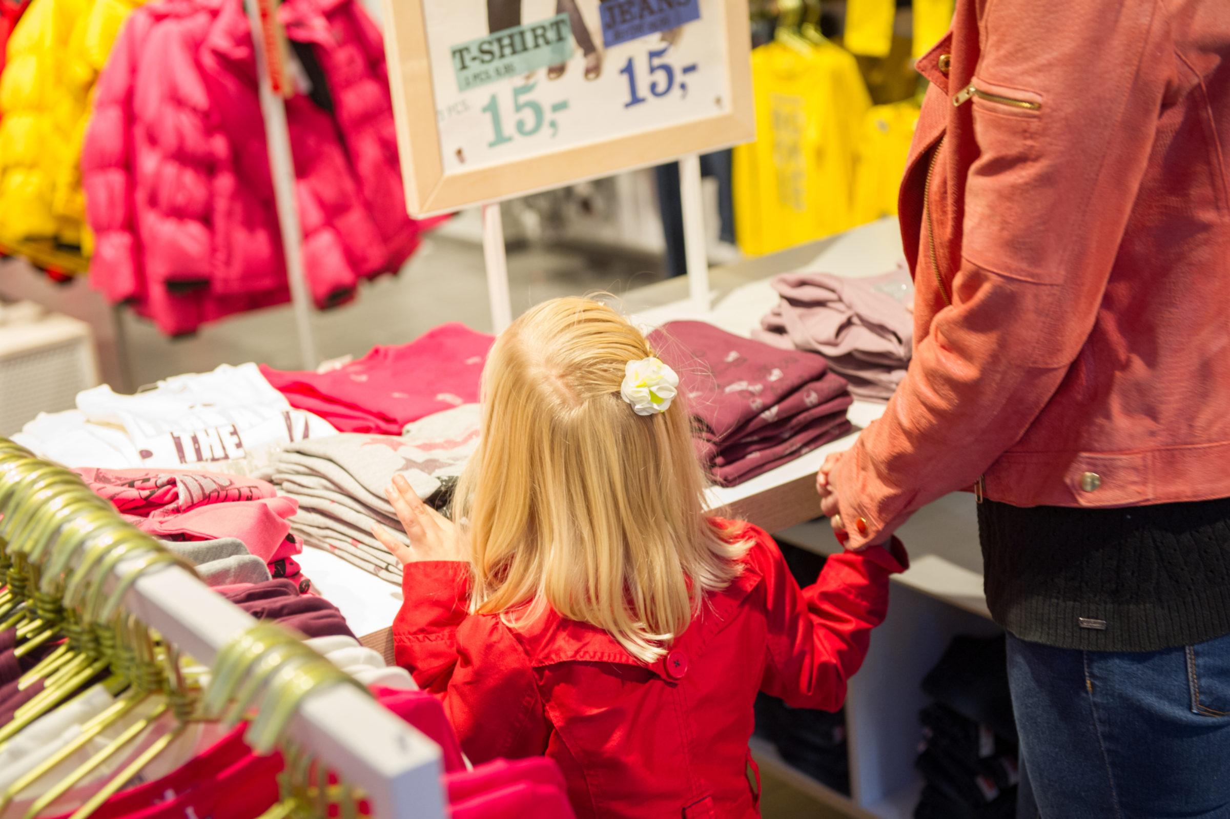Shoppen Met Kinderen In Enschede