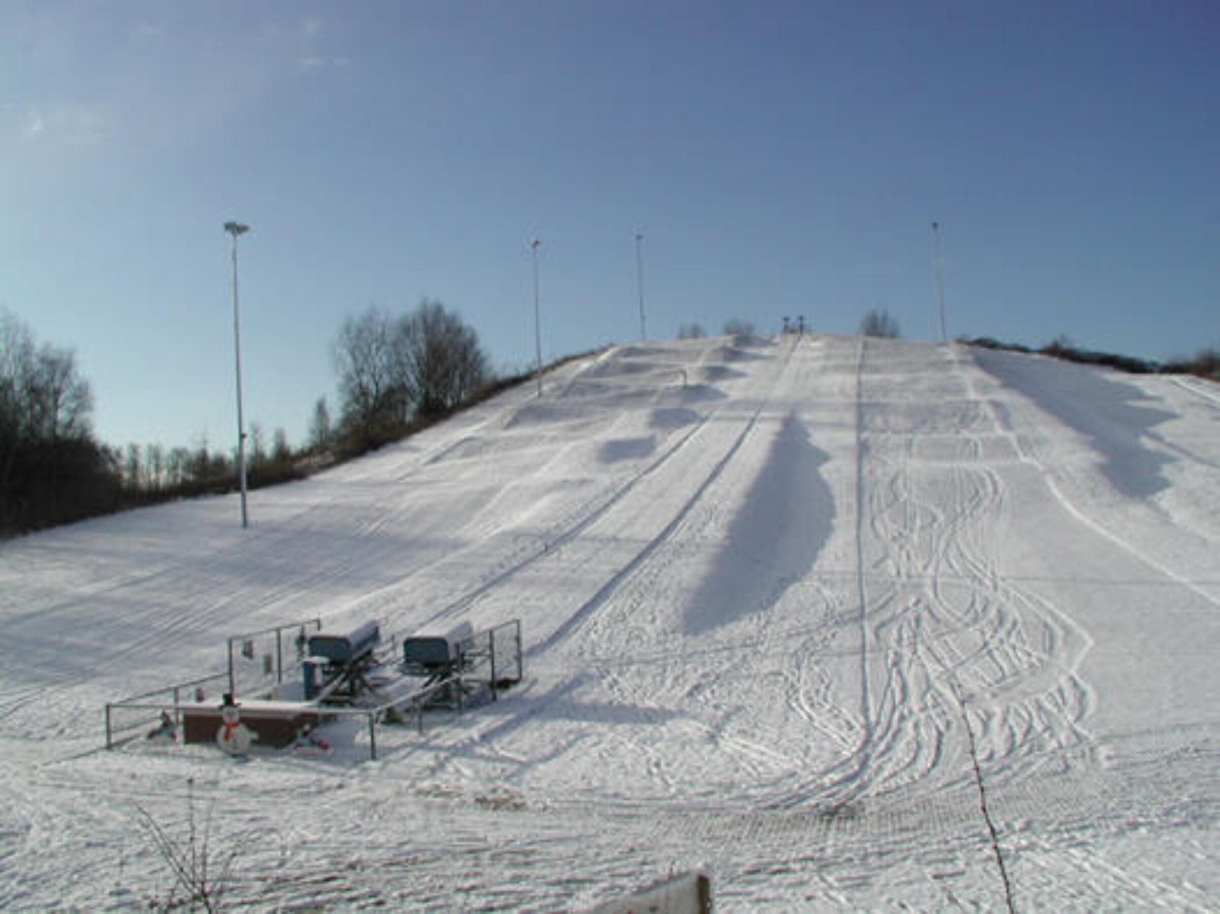 Skicentrum Moser sneeuw Enschede