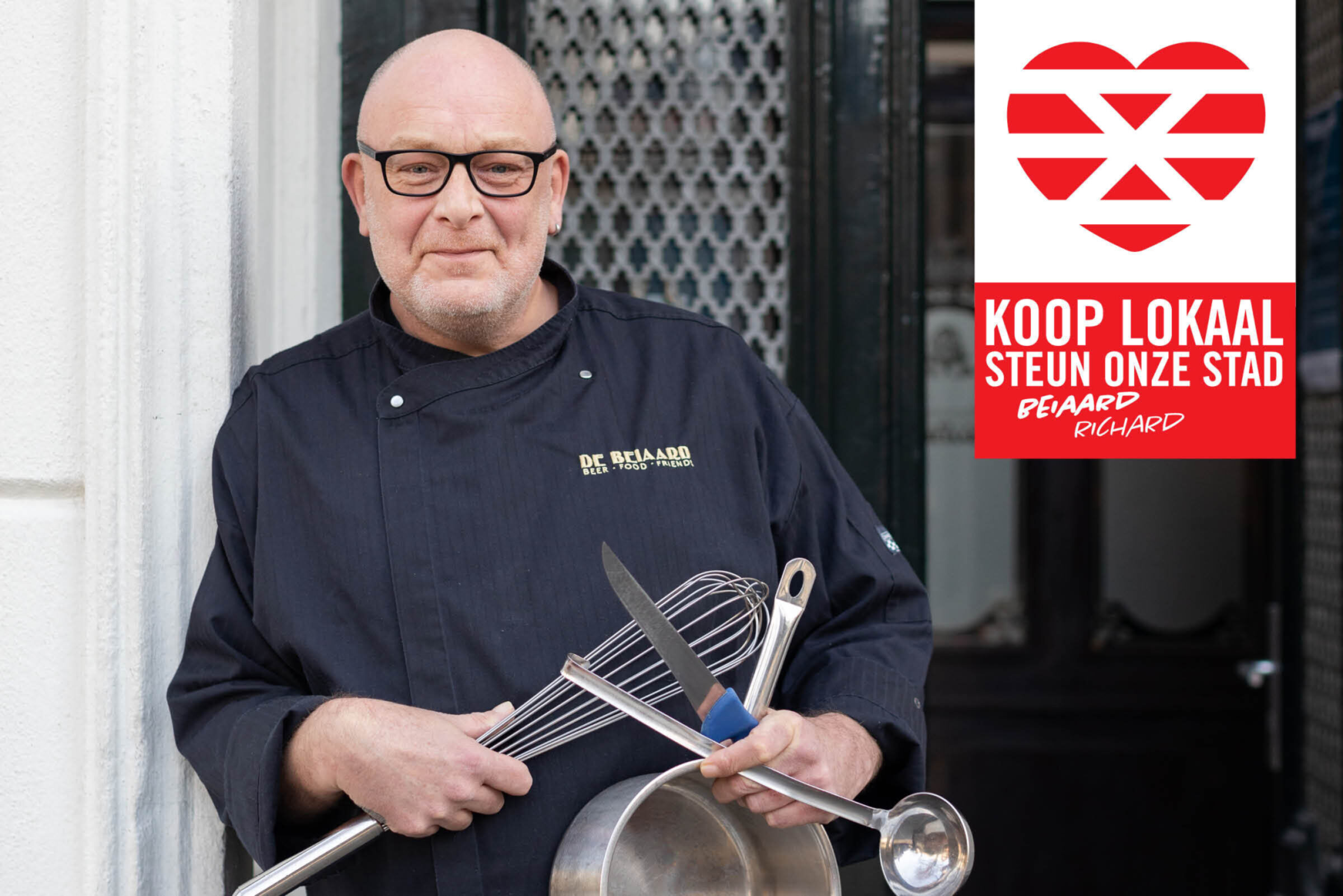 Steun onze stad Koop lokaal Enschede De Beiaard Richard