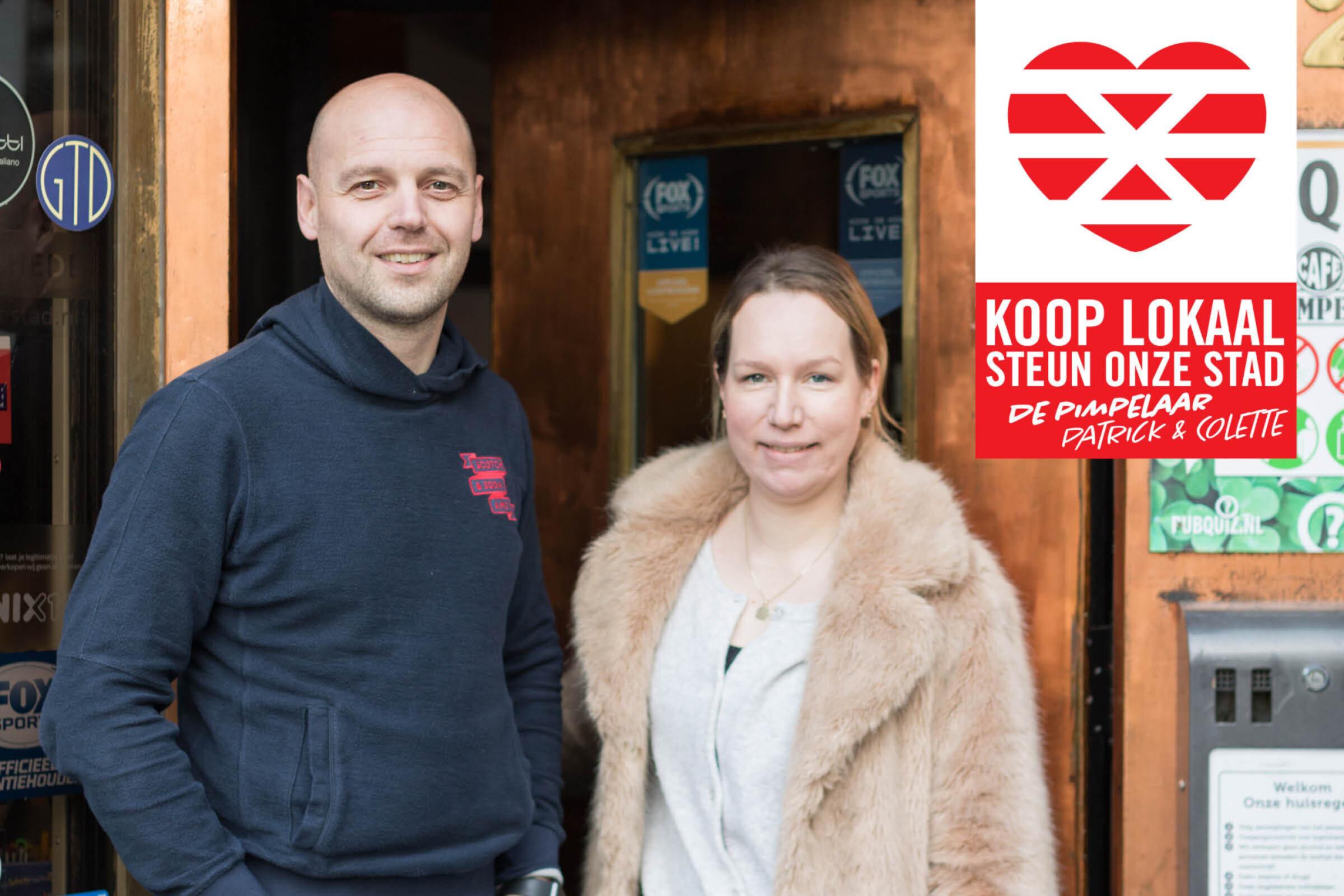 Steun onze stad Koop lokaal Enschede De Pimpelaar Patrick Colette
