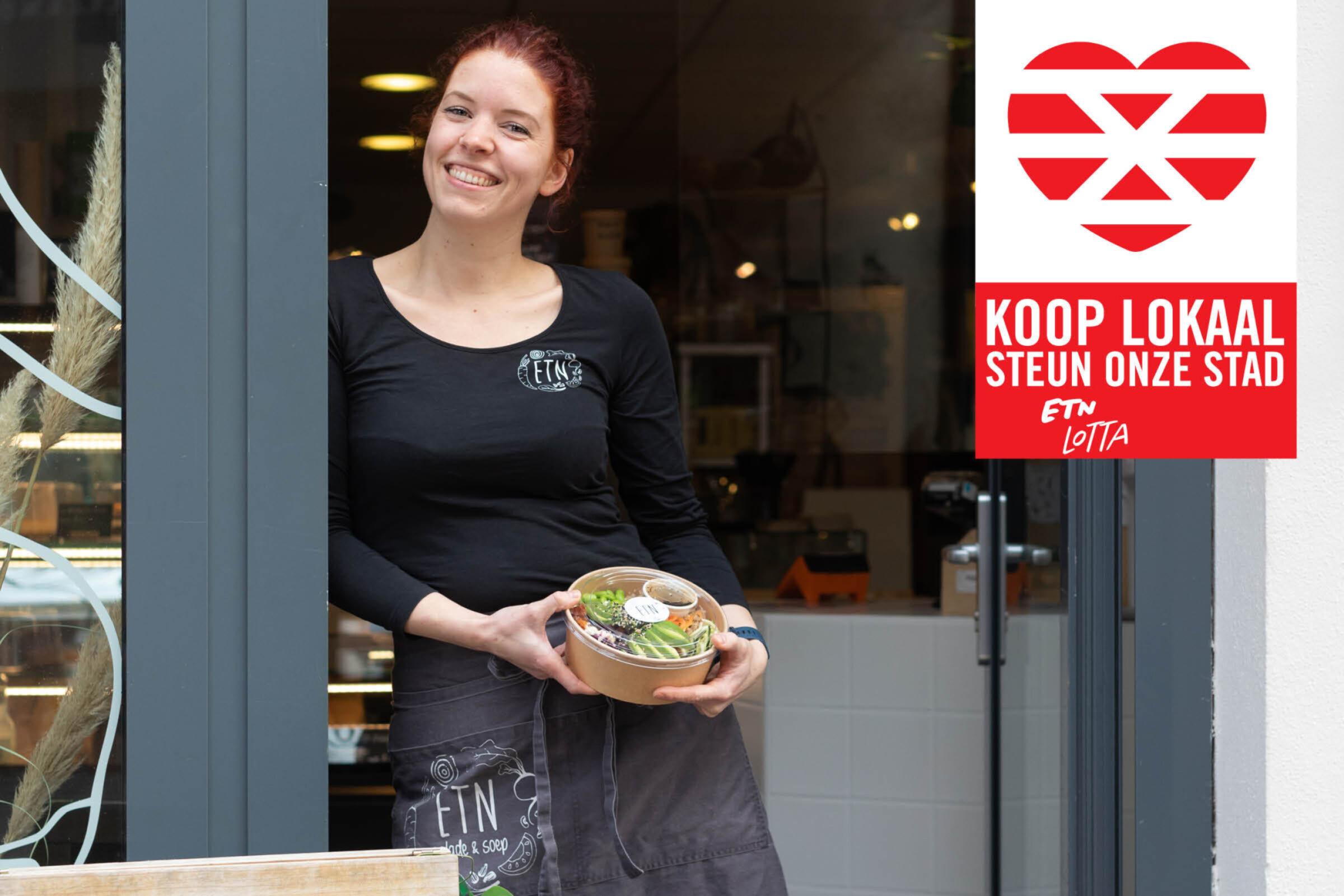 Steun onze stad Koop lokaal Enschede ETN Lotta
