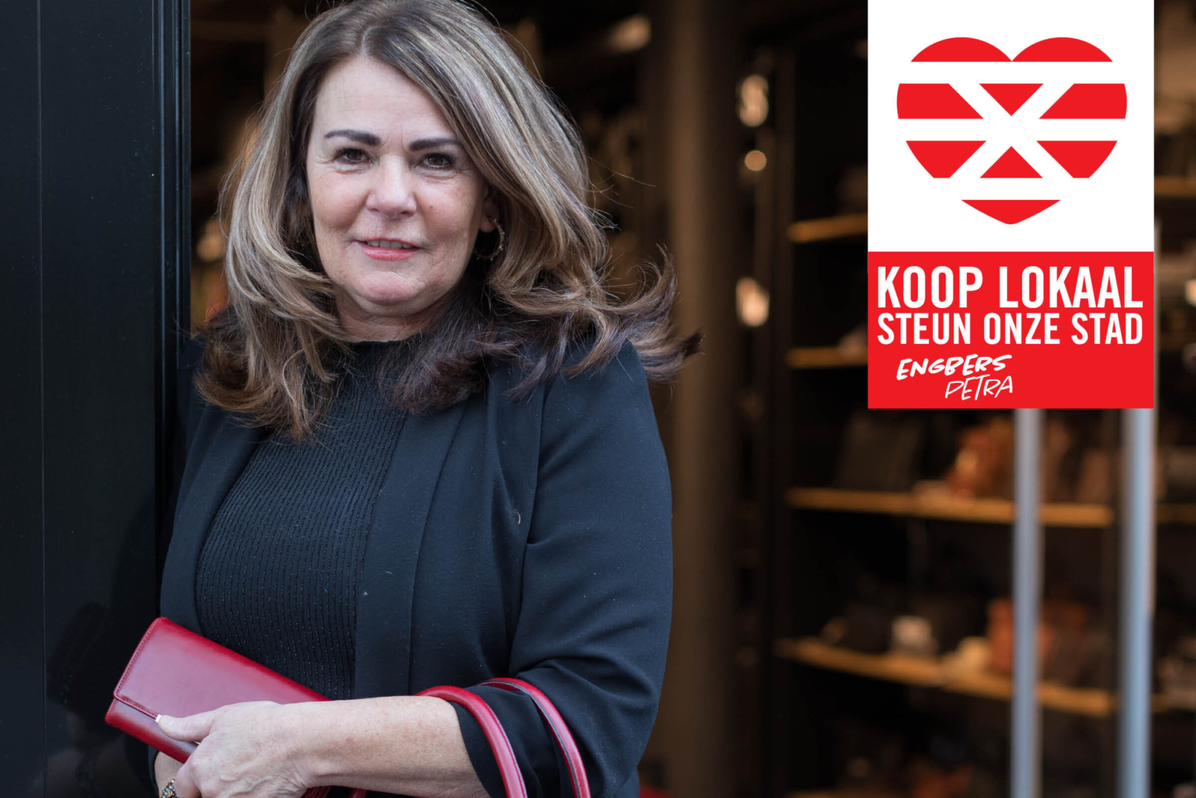 Steun onze stad Koop lokaal Enschede Engbers Petra